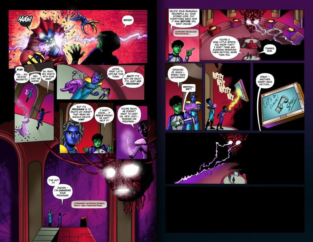 Read online ReBoot: Paradigms Lost comic -  Issue # Full - 33