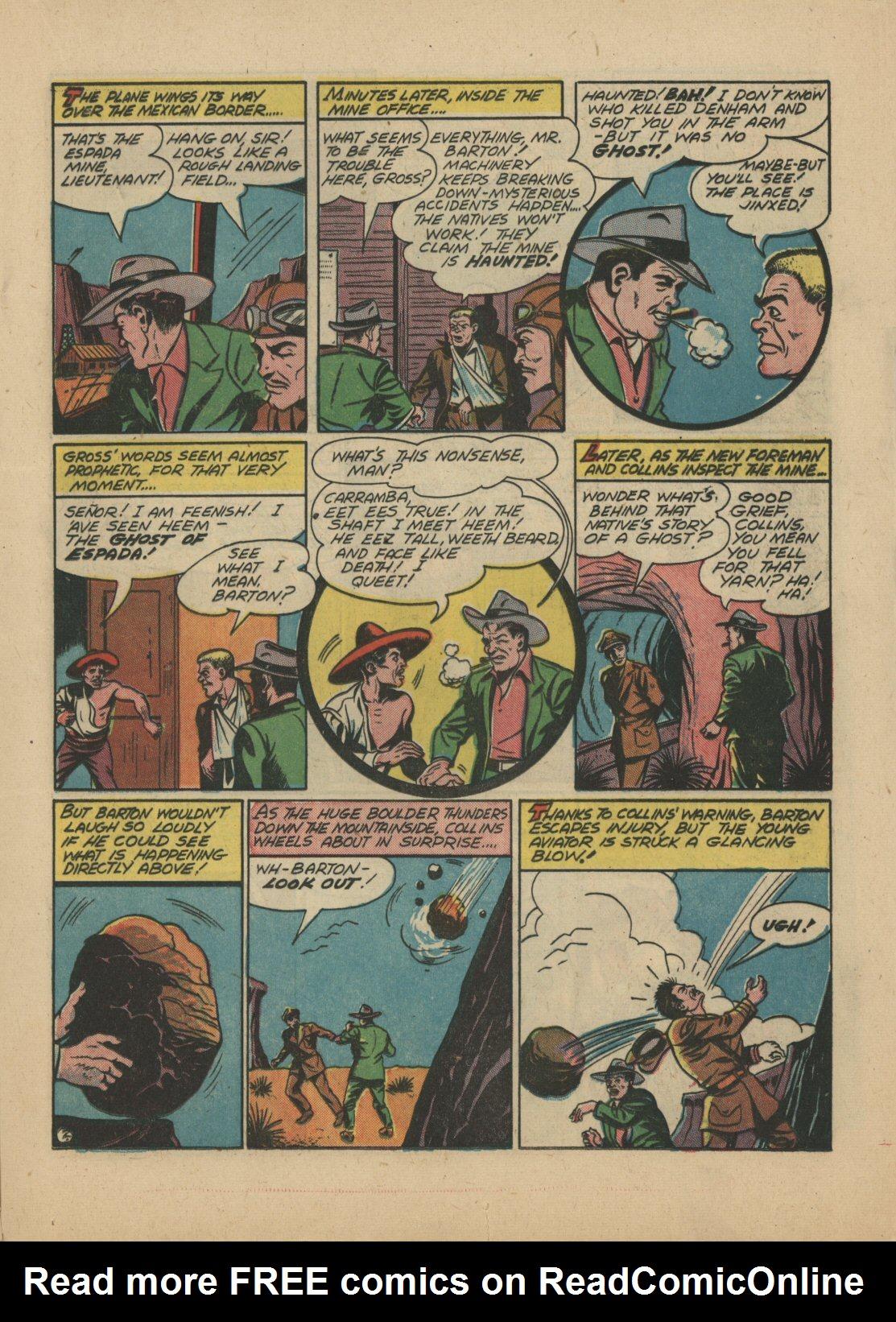 Read online Sensation (Mystery) Comics comic -  Issue #21 - 24