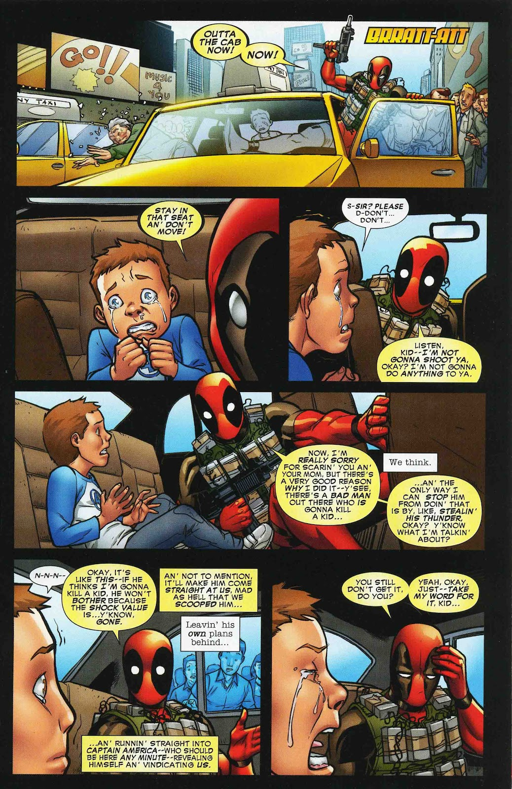 Read online Deadpool (2008) comic -  Issue #47 - 21