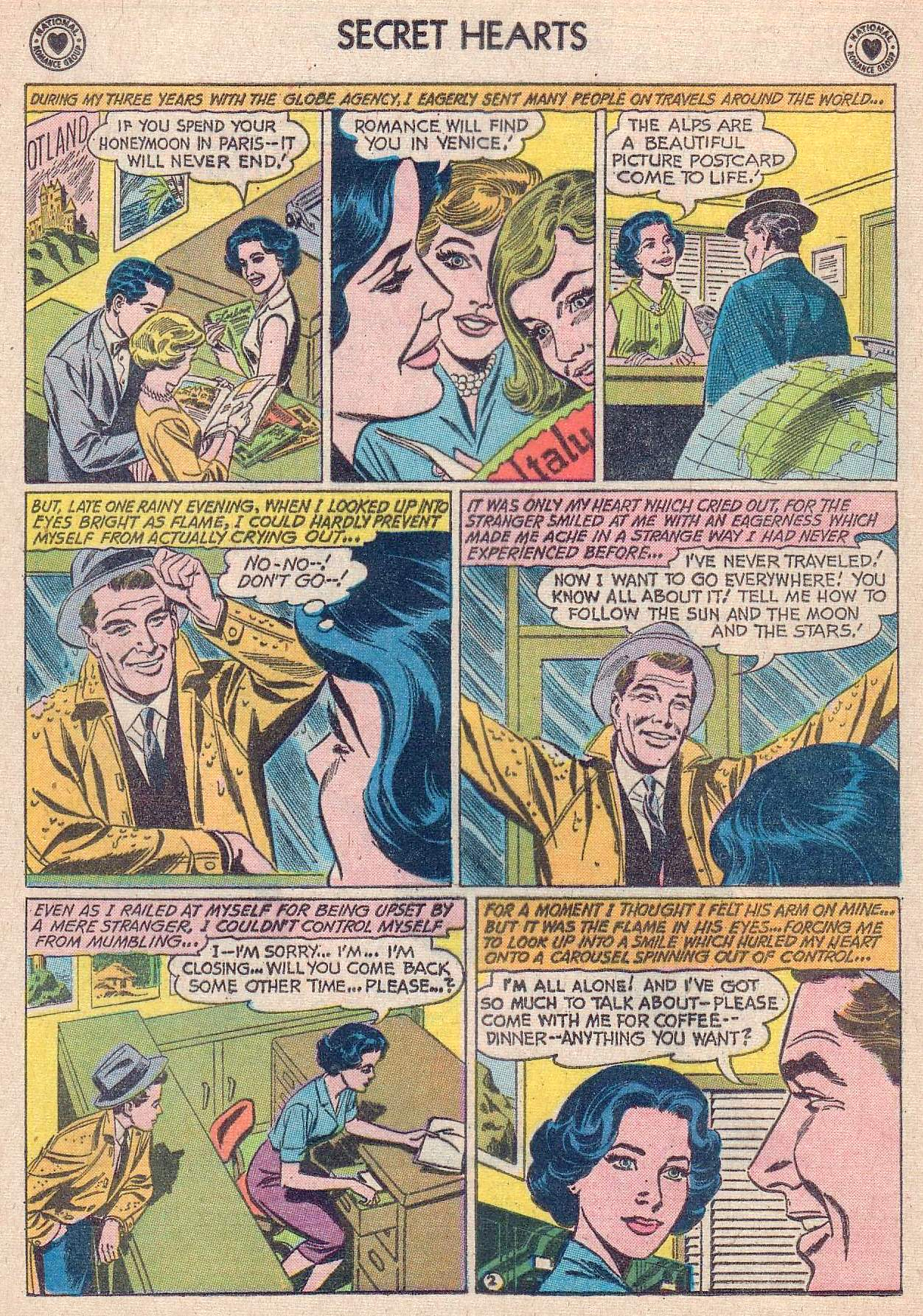 Read online Secret Hearts comic -  Issue #67 - 4