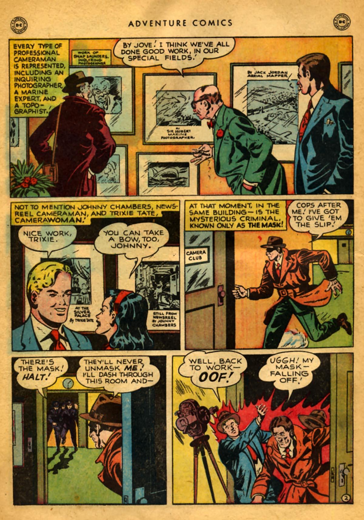 Read online Adventure Comics (1938) comic -  Issue #141 - 42