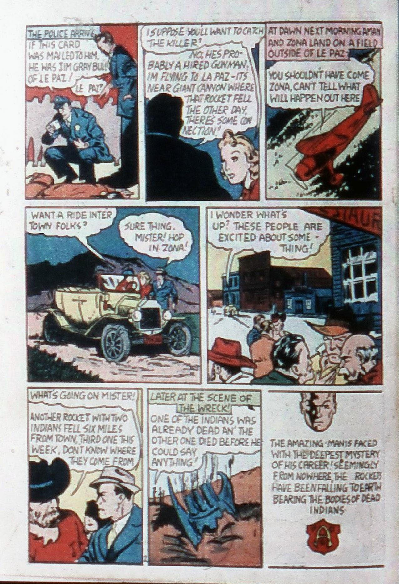 Read online Amazing Man Comics comic -  Issue #20 - 5