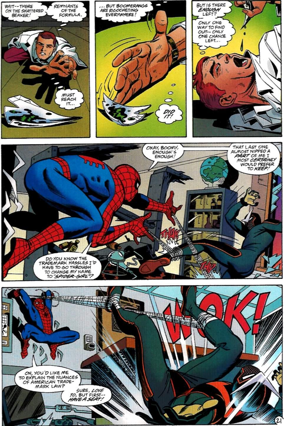 Read online Spider-Man: Lifeline comic -  Issue #2 - 22