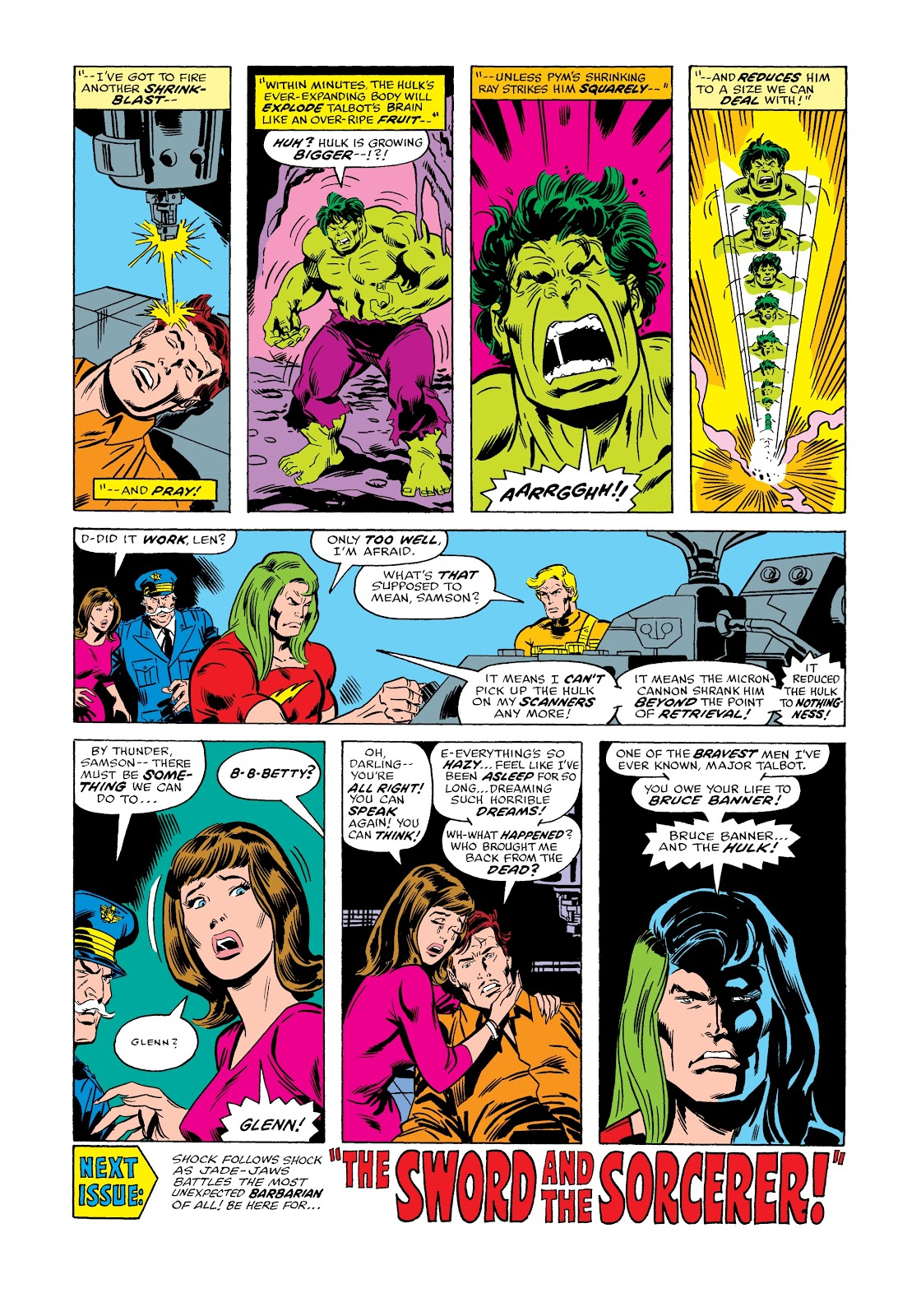 Read online Marvel Masterworks: The Incredible Hulk comic -  Issue # TPB 12 (Part 2) - 18