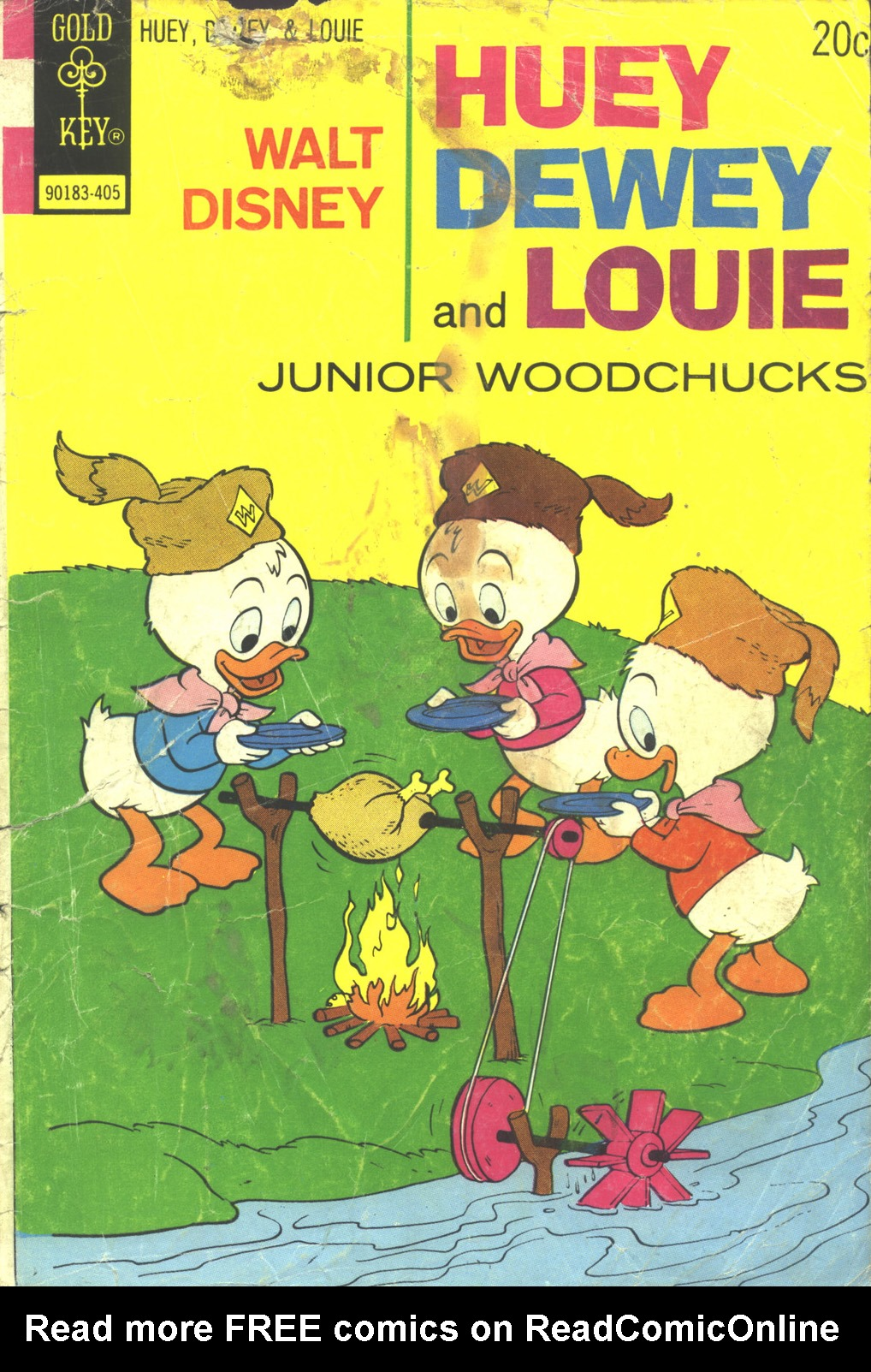 Huey, Dewey, and Louie Junior Woodchucks 26 Page 1