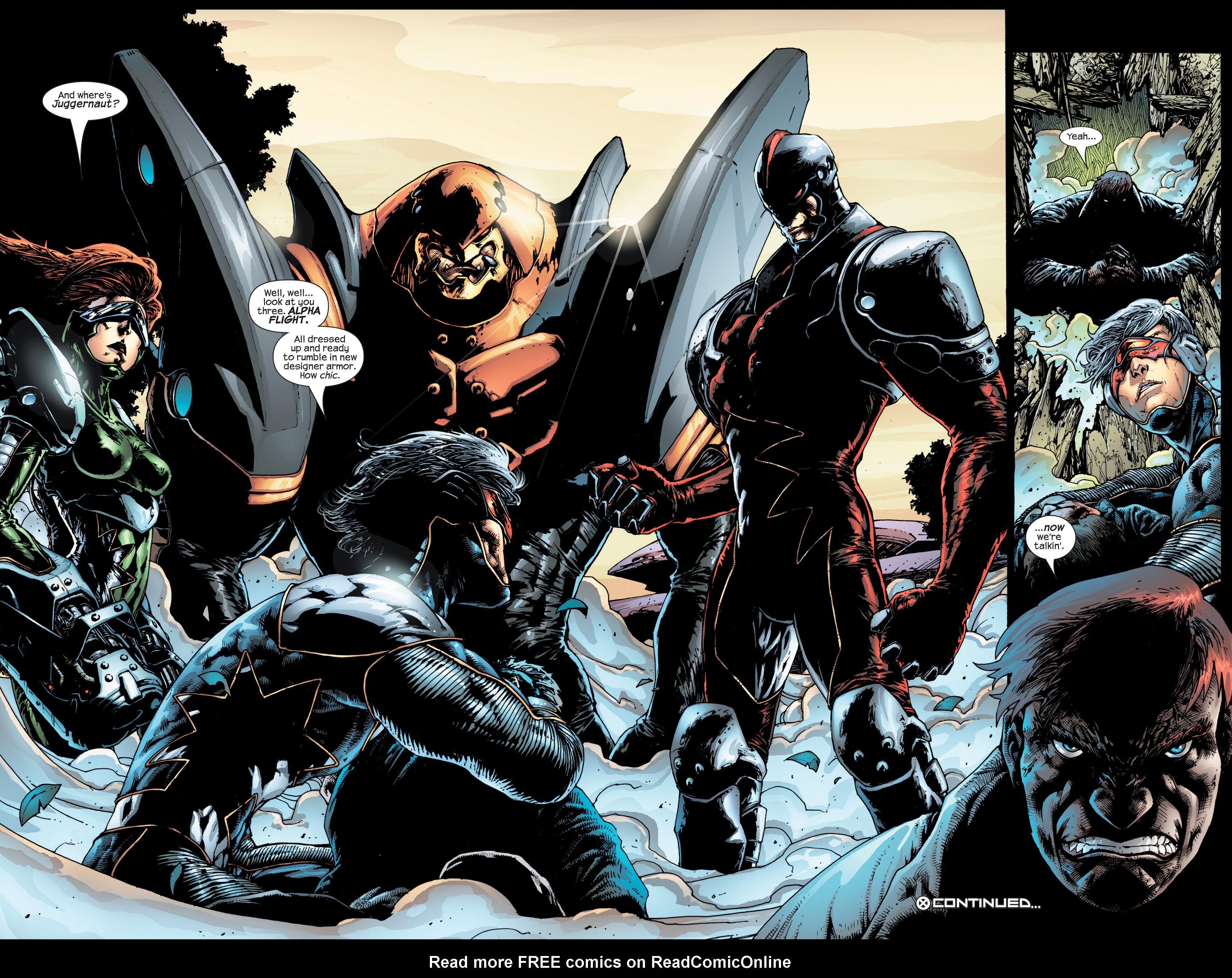 Read online Uncanny X-Men (1963) comic -  Issue #432 - 23