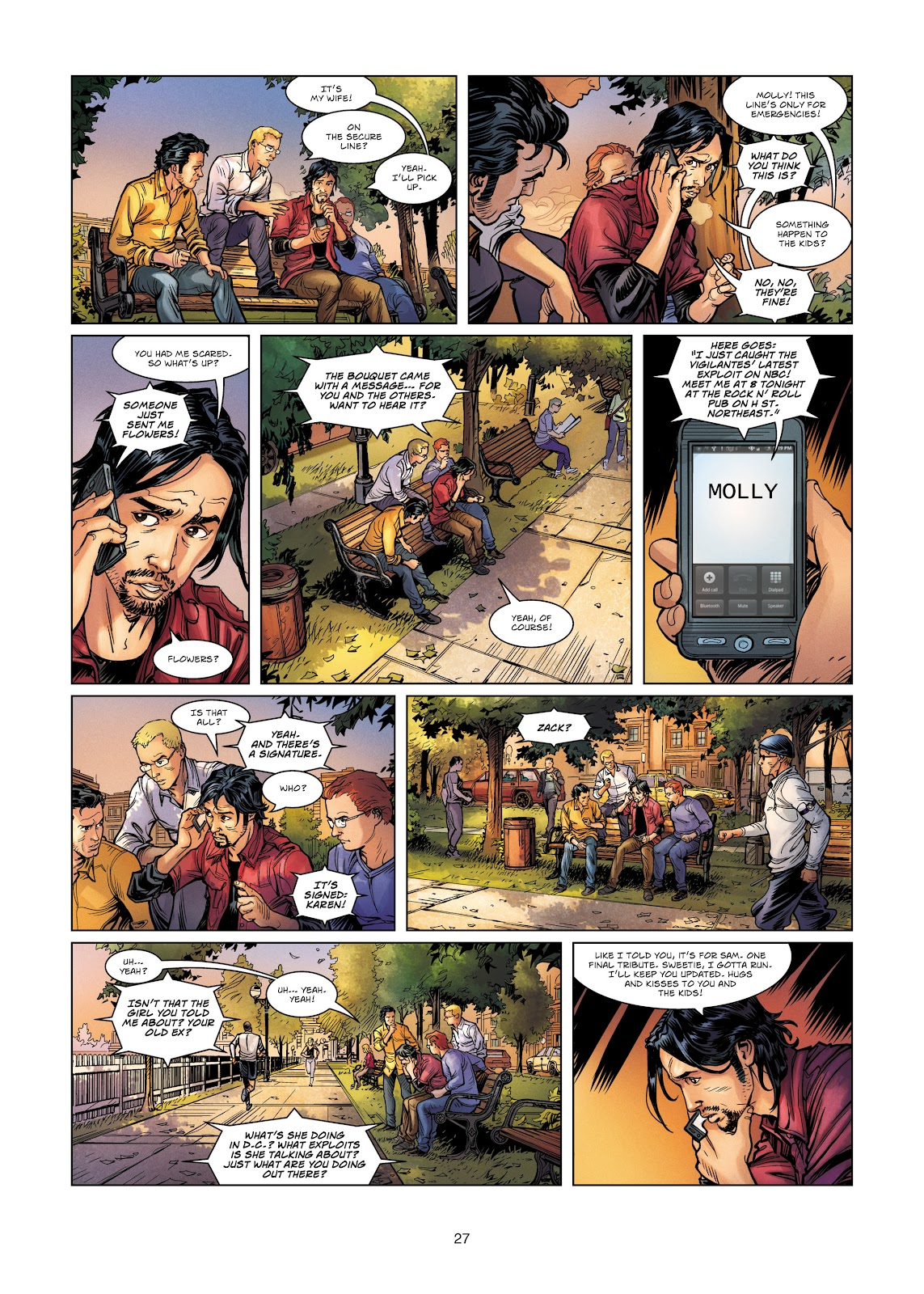 Read online Vigilantes comic -  Issue #4 - 27