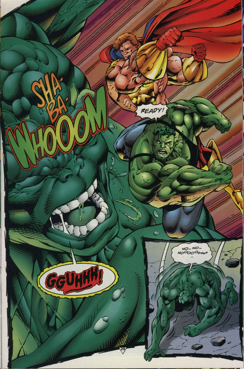 Read online Prime Vs. The Incredible Hulk comic -  Issue # Full - 24