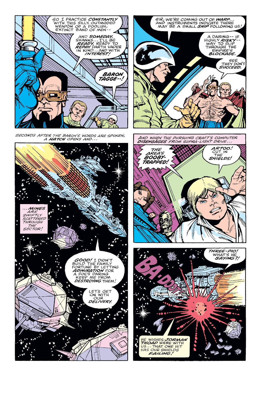 Read online Star Wars Legends: The Original Marvel Years - Epic Collection comic -  Issue # TPB 2 (Part 1) - 33