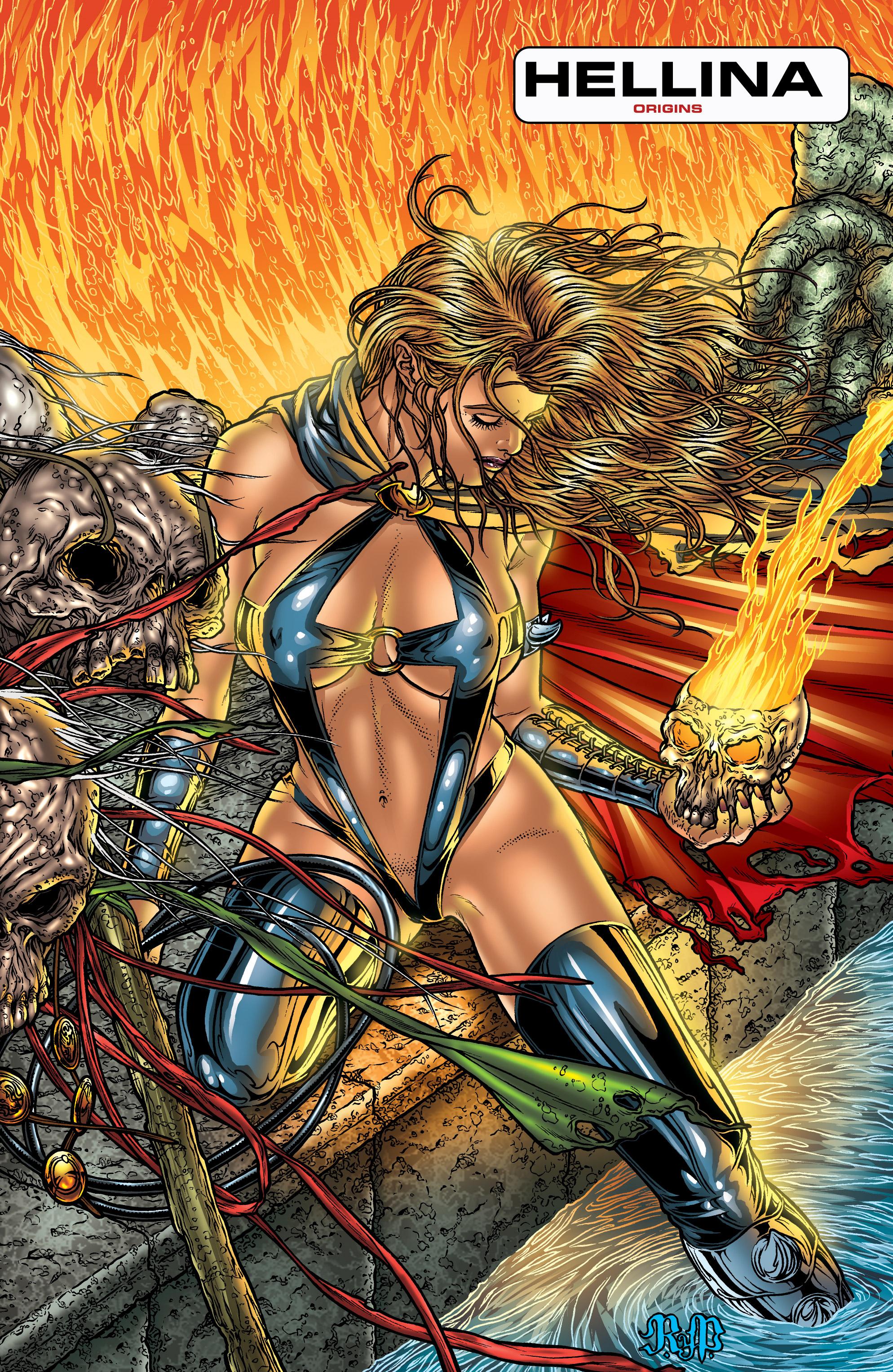 Read online Hellina: Scythe comic -  Issue #4 - 18