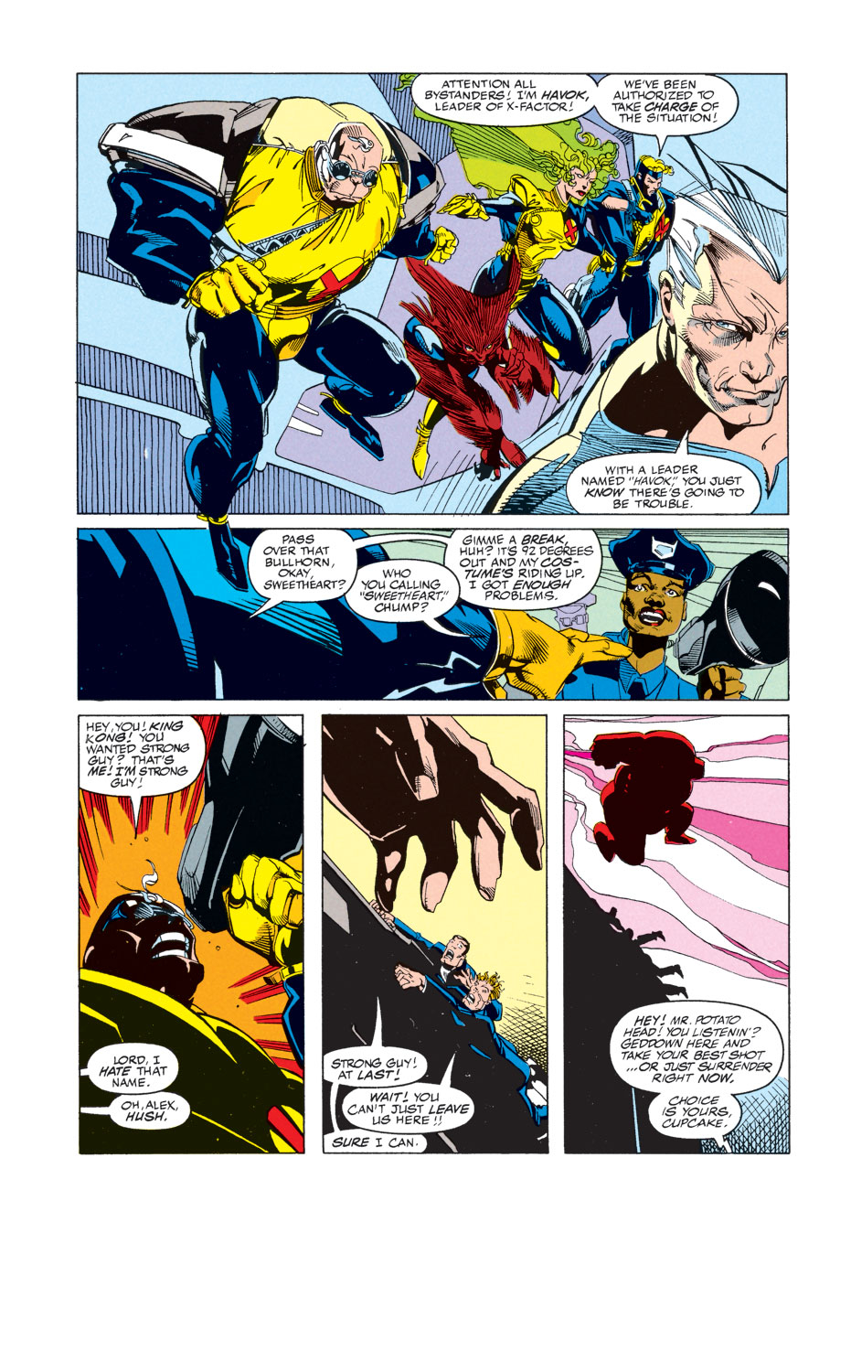Read online X-Factor (1986) comic -  Issue #74 - 12
