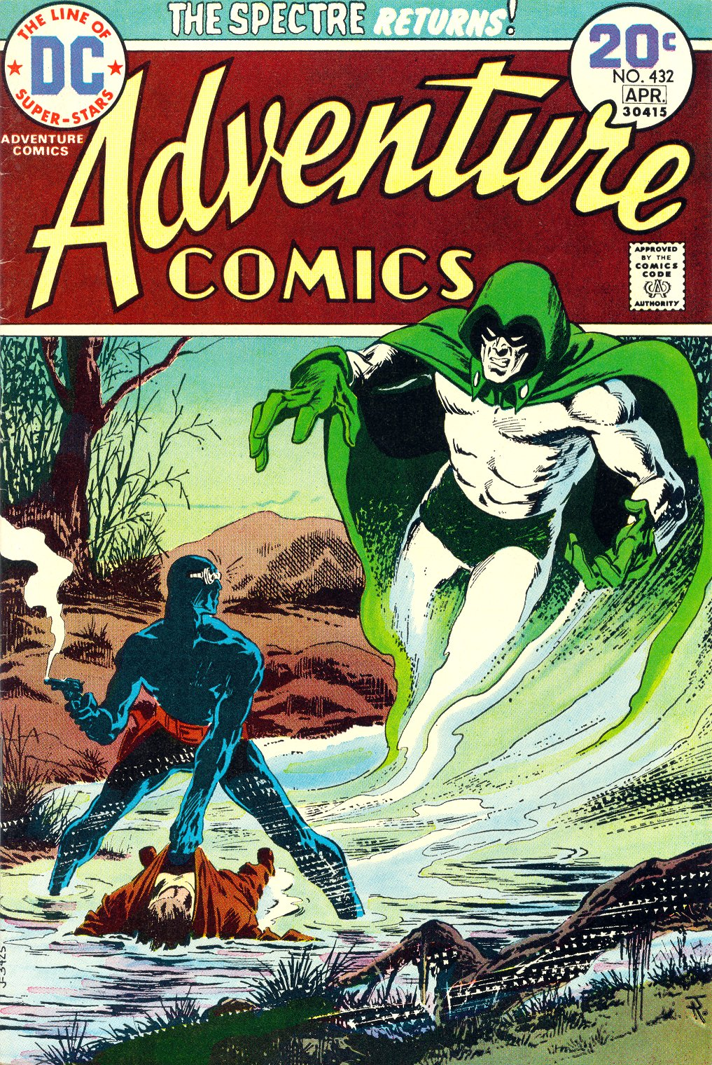 Read online Adventure Comics (1938) comic -  Issue #432 - 1