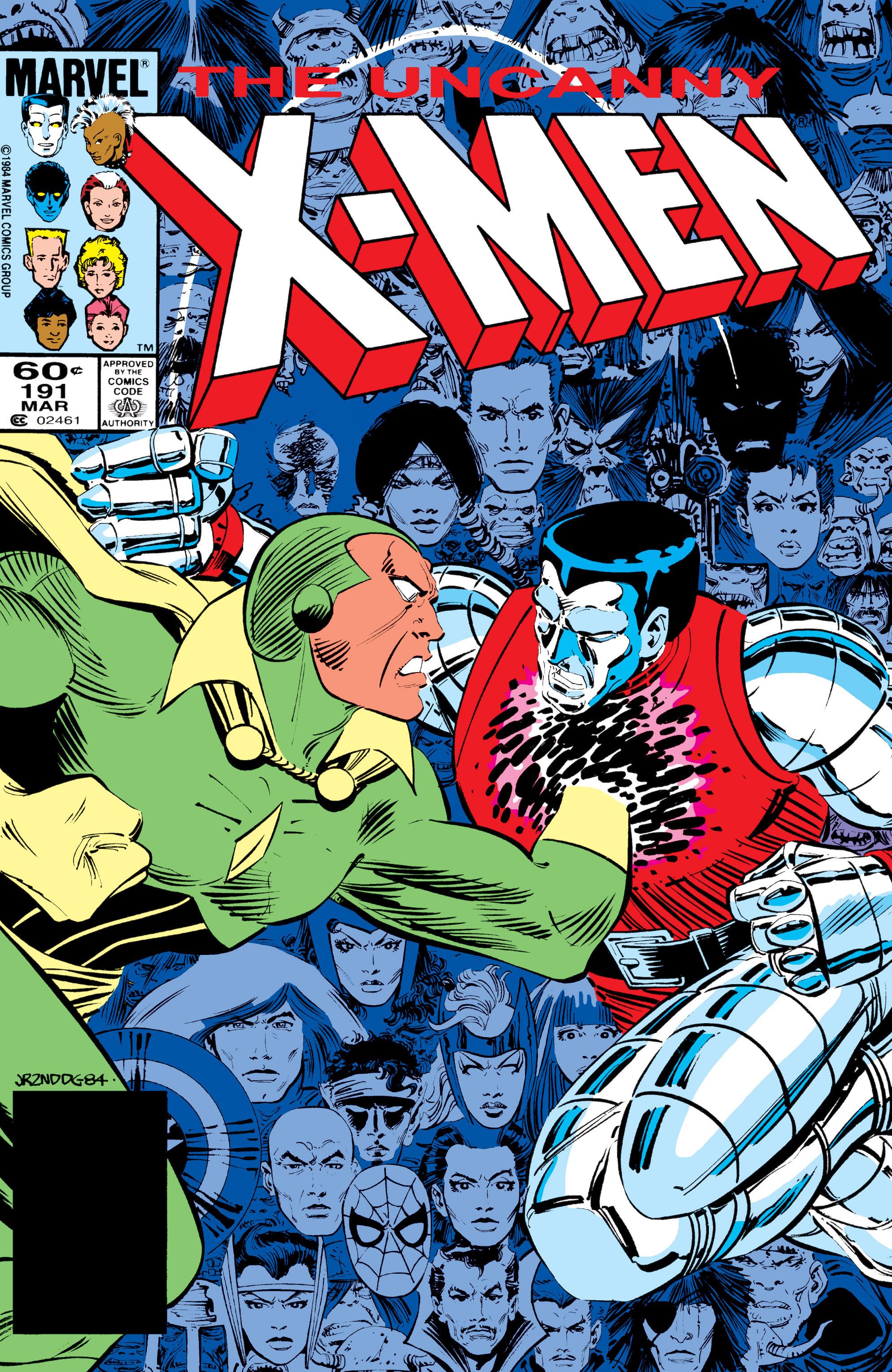 Uncanny X-Men (1963) 191 Page 1