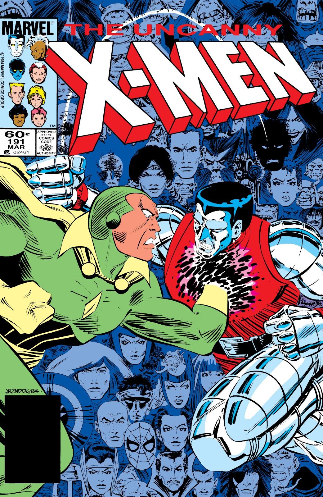 Uncanny X-Men (1963) issue 191 - Page 1