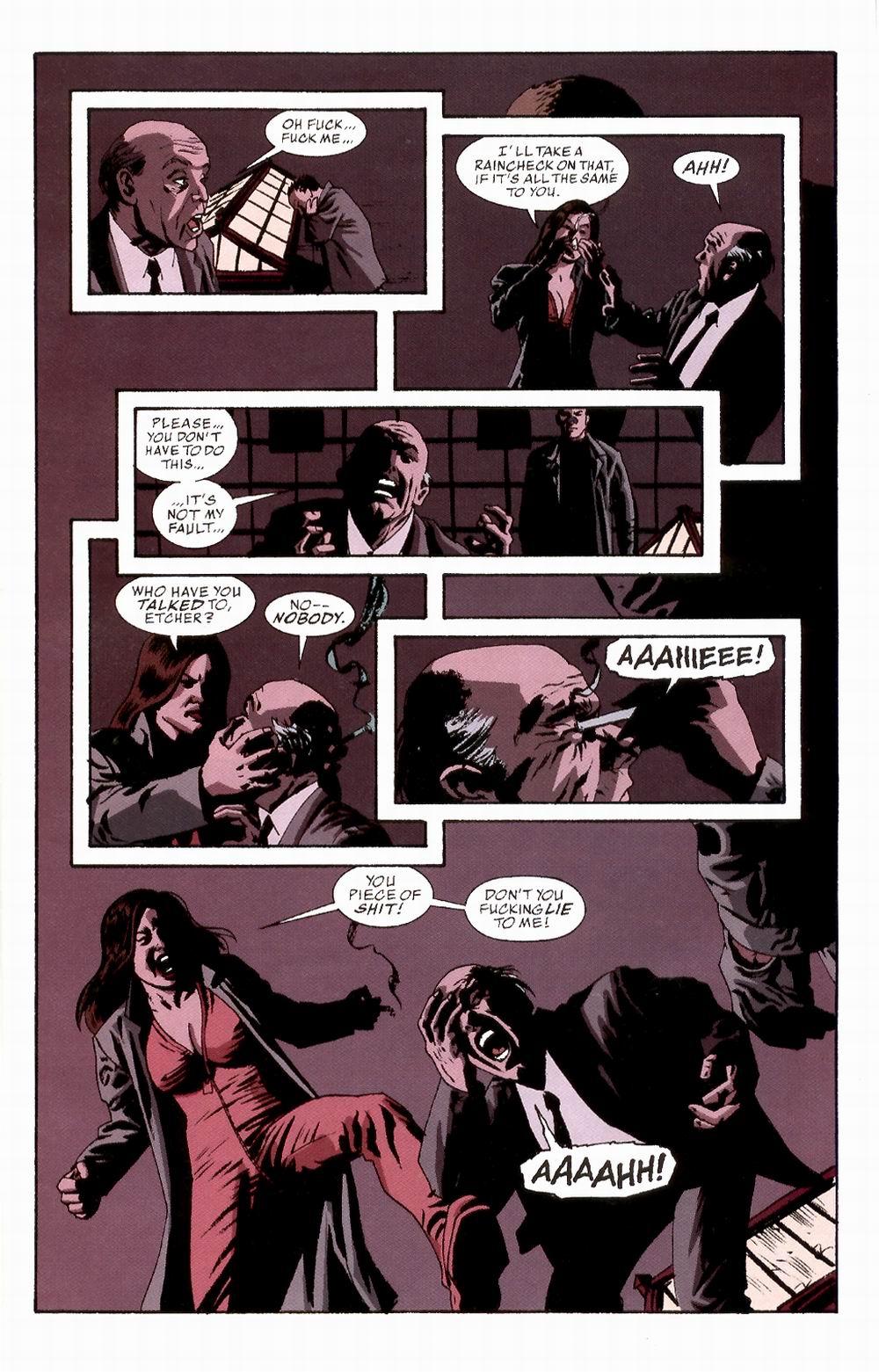 Read online Sleeper comic -  Issue #3 - 14