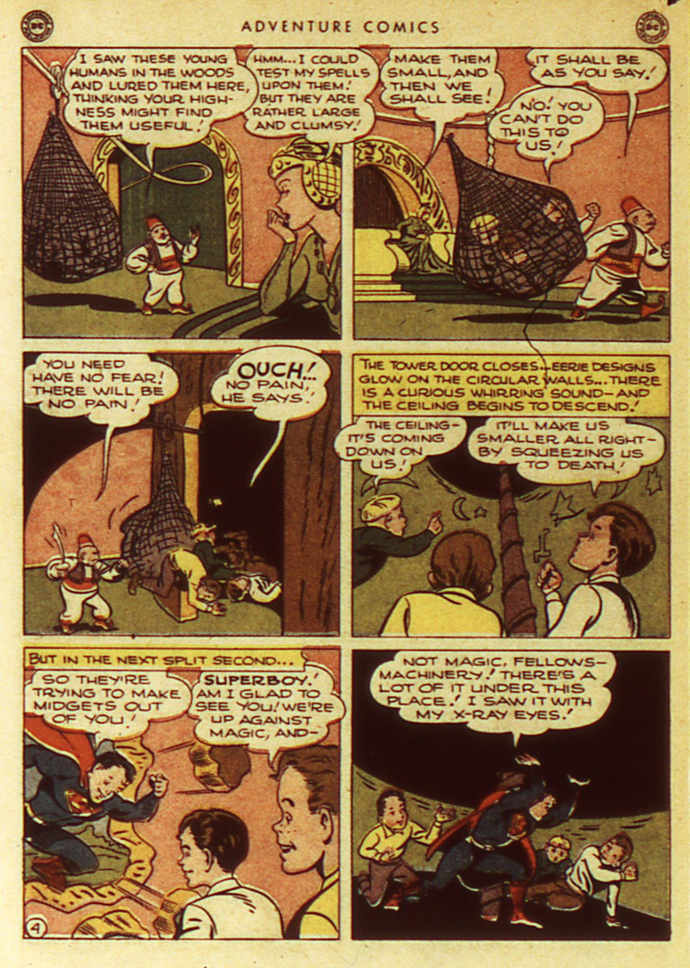 Read online Adventure Comics (1938) comic -  Issue #105 - 6