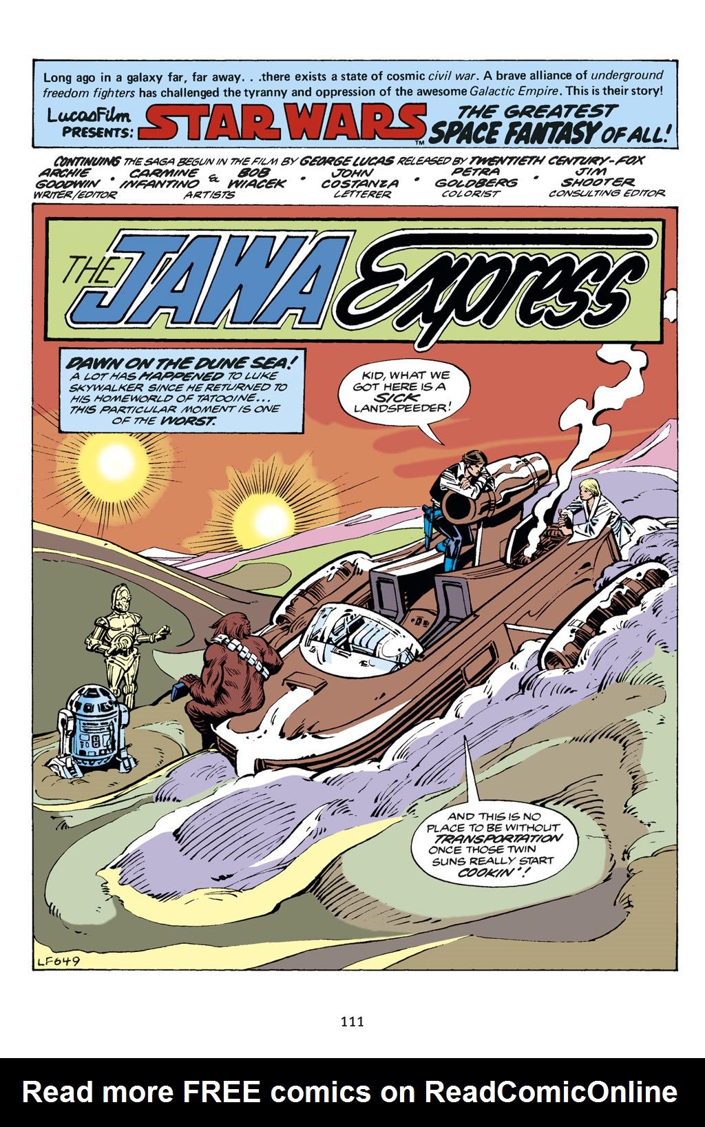 Read online Star Wars Omnibus comic -  Issue # Vol. 14 - 111