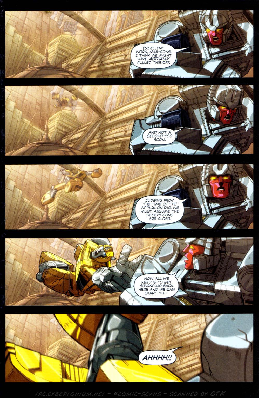 Read online Transformers Armada comic -  Issue #1 - 18