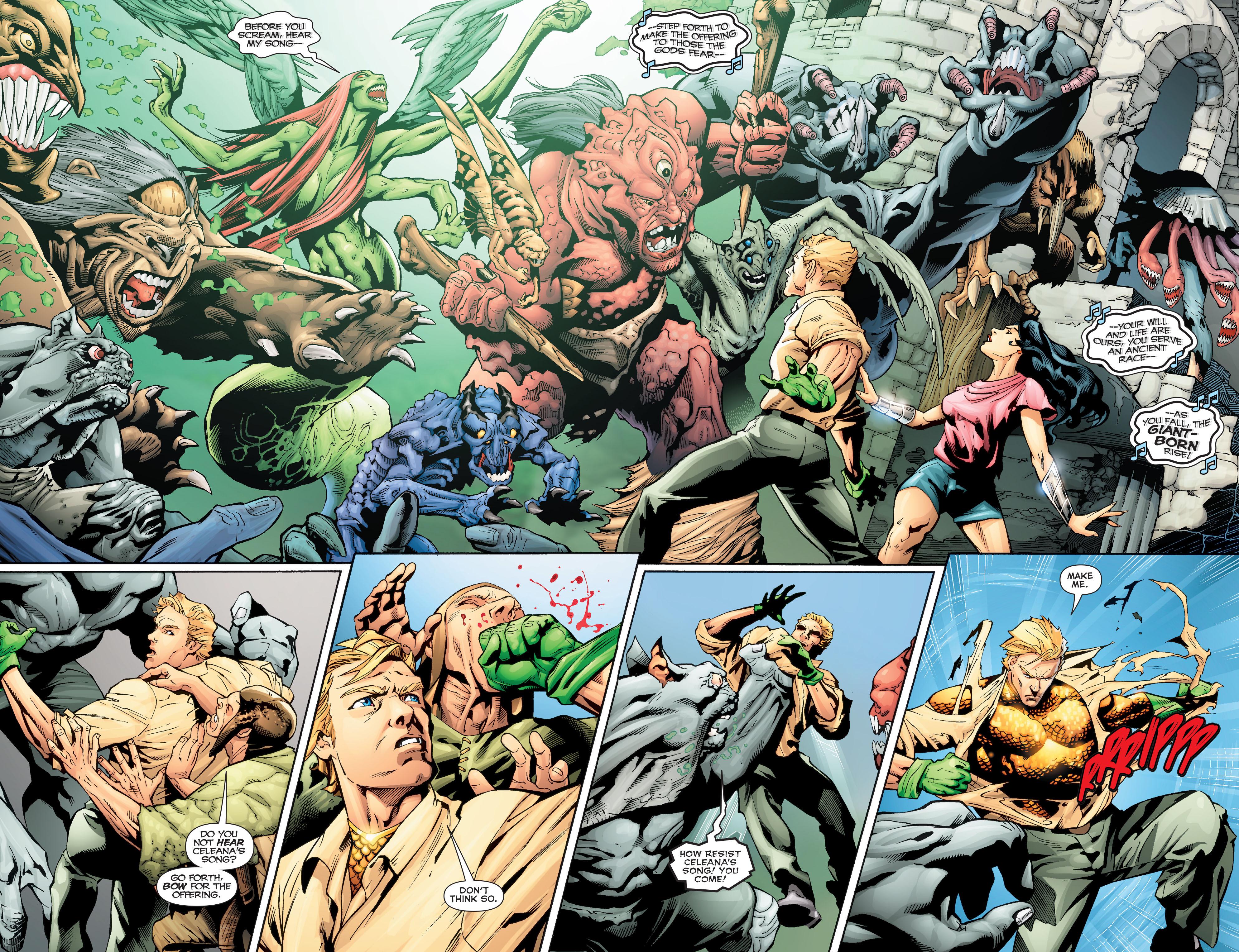 Read online Aquaman (2011) comic -  Issue #Aquaman (2011) _Annual 2 - 11