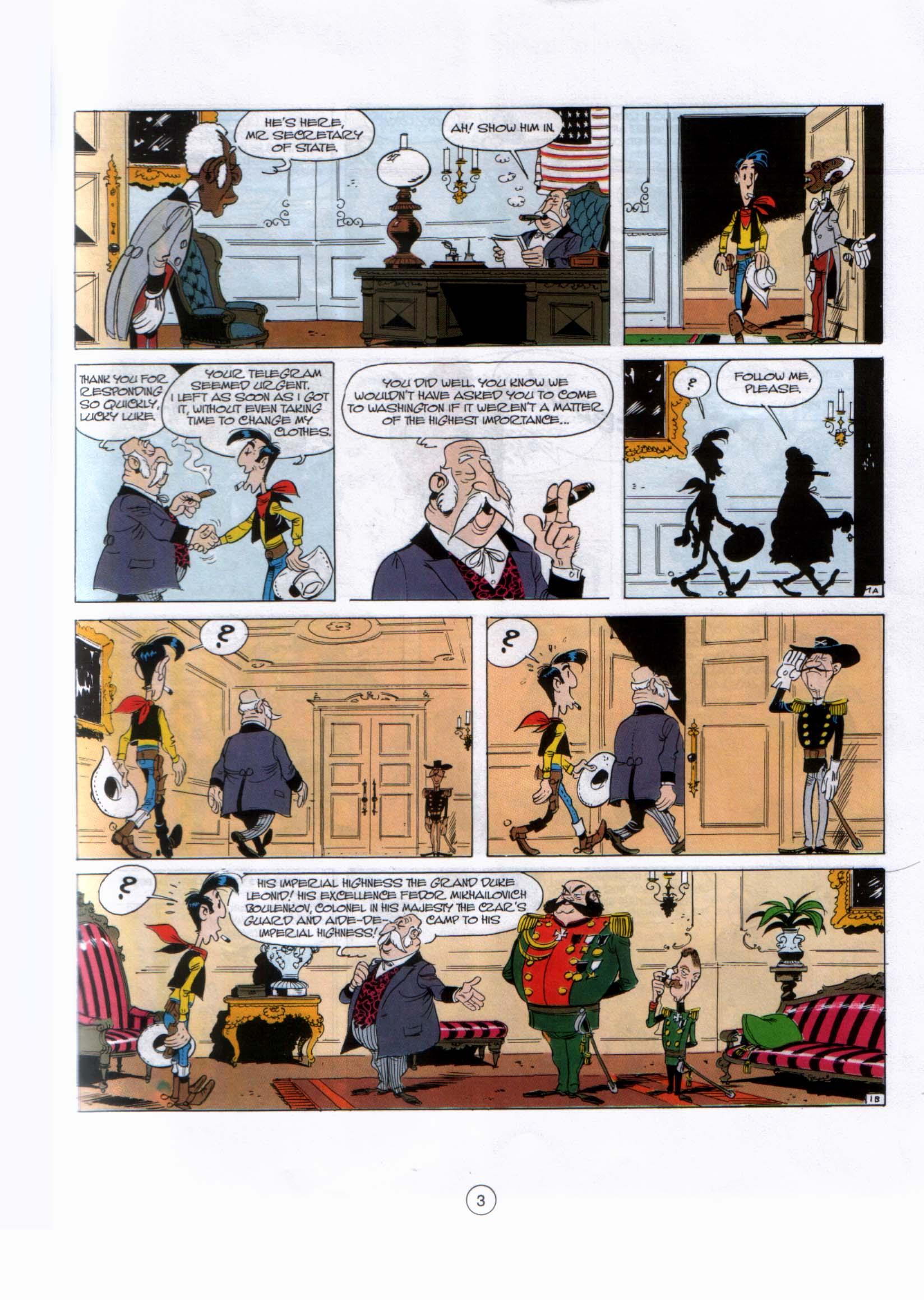 Read online A Lucky Luke Adventure comic -  Issue #29 - 2