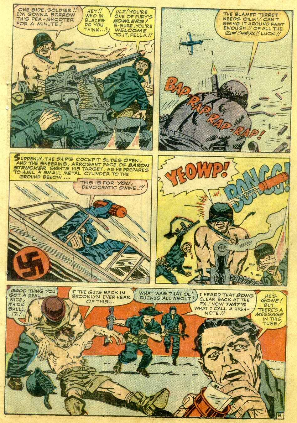 Read online Sgt. Fury comic -  Issue # _Annual 1 - 55
