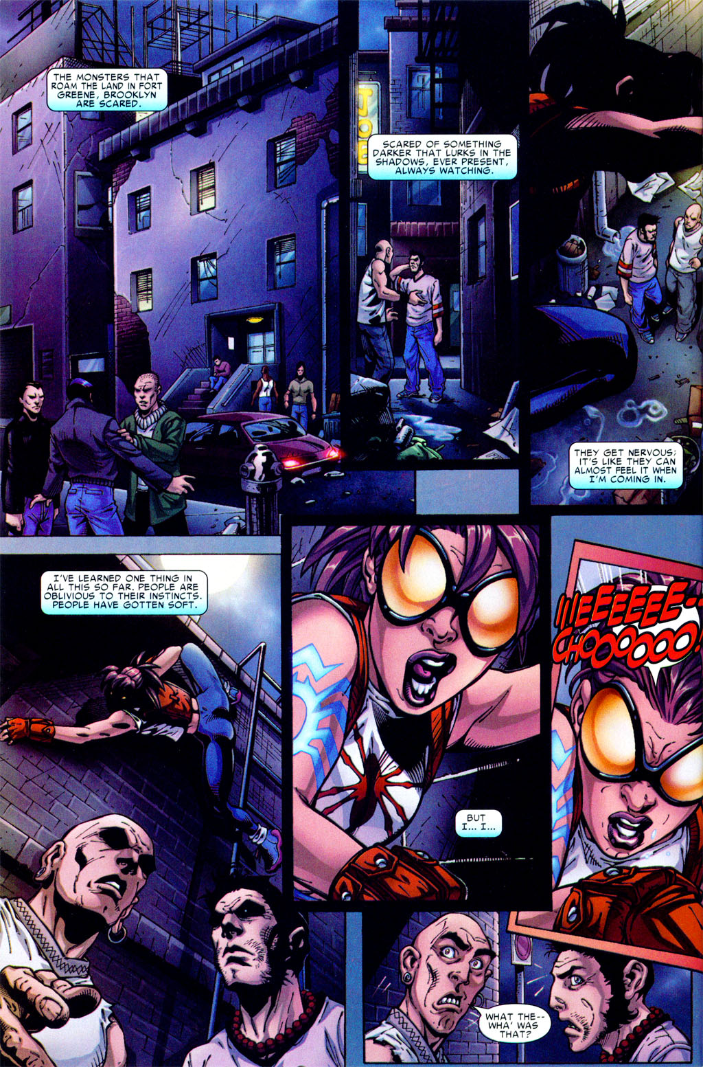 Read online Araña: Heart of the Spider comic -  Issue #1 - 3