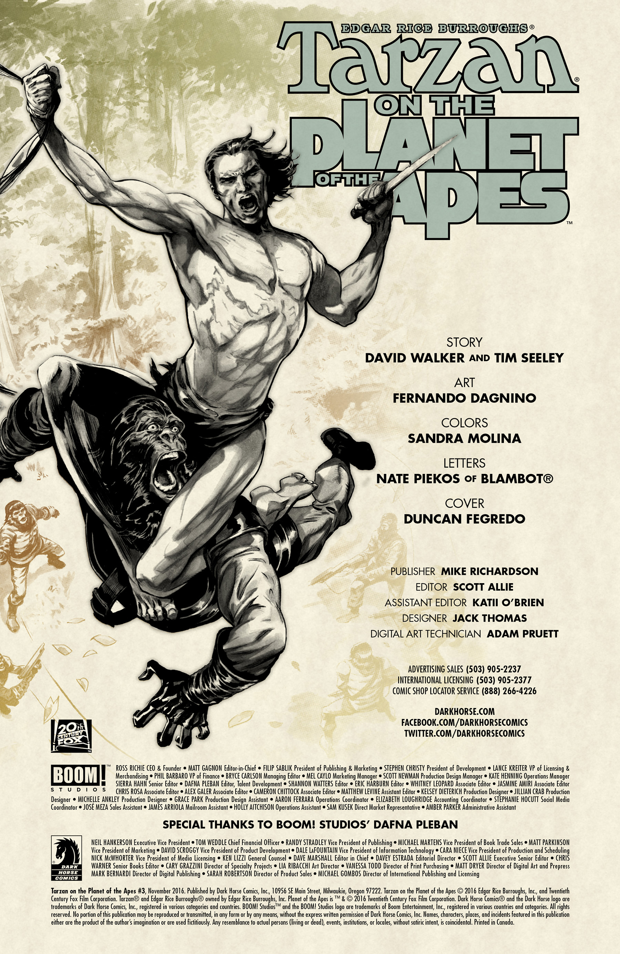 Tarzan On the Planet of the Apes 3 Page 2