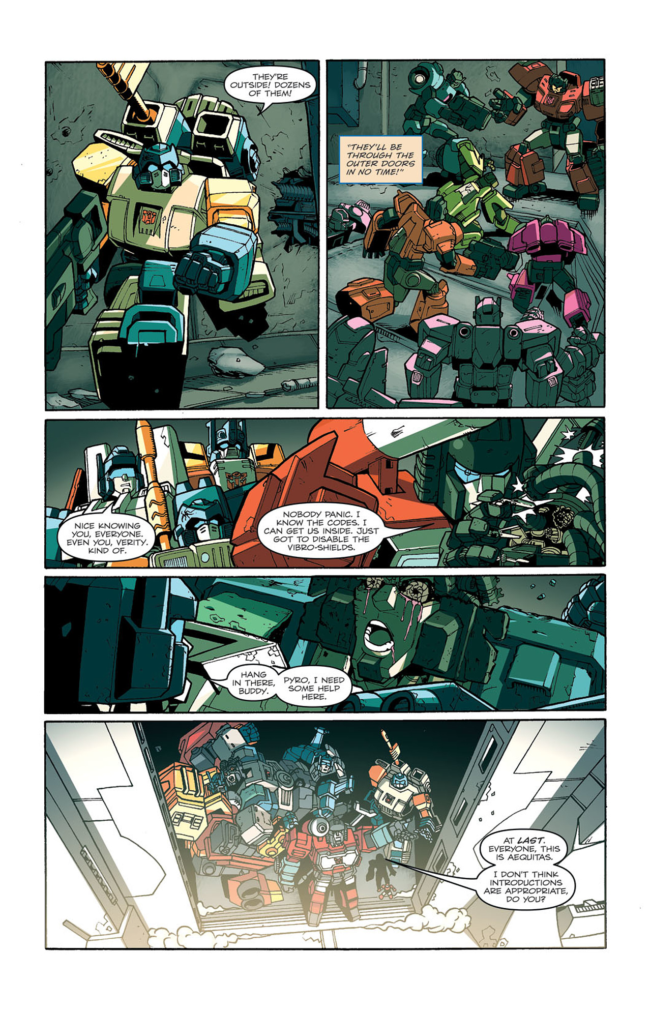 Read online Transformers: Last Stand of The Wreckers comic -  Issue #3 - 25