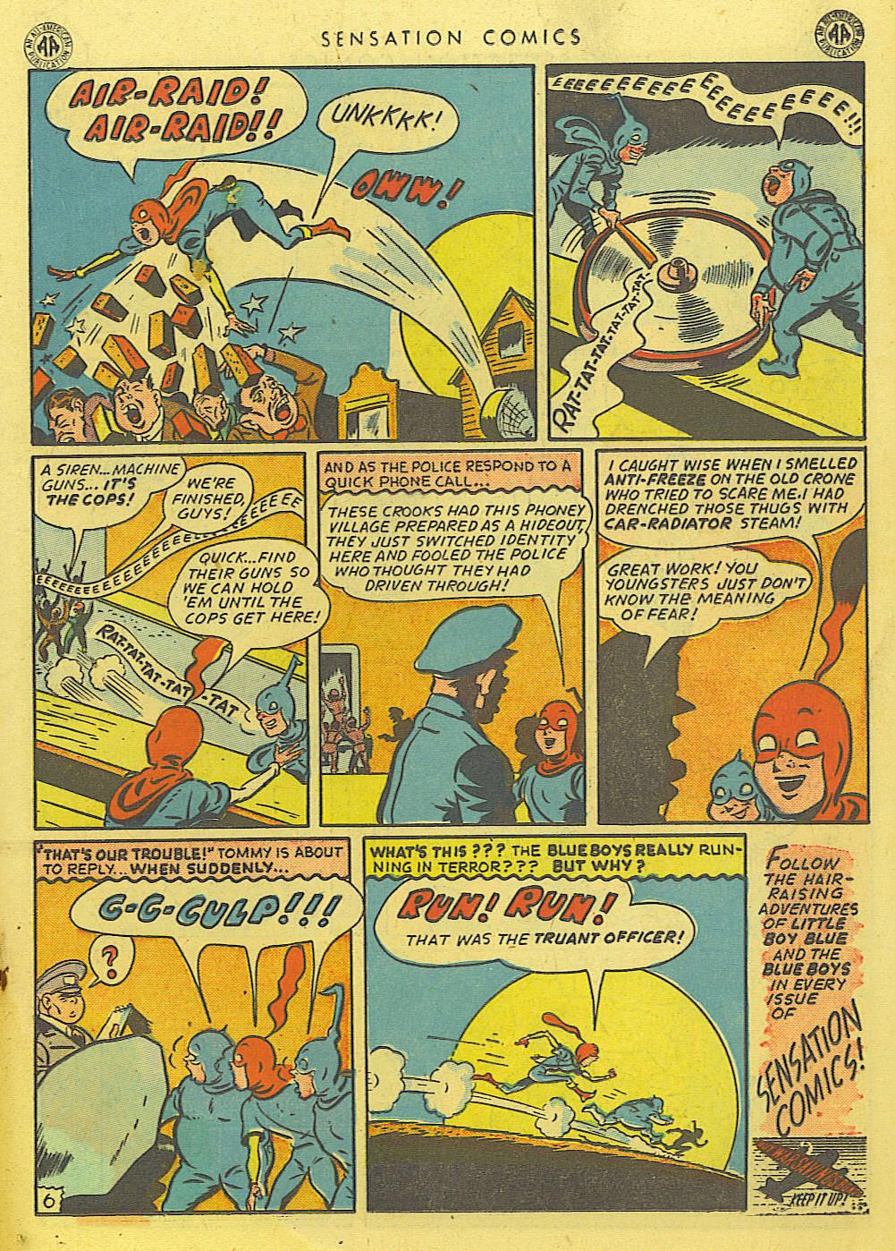 Read online Sensation (Mystery) Comics comic -  Issue #39 - 27