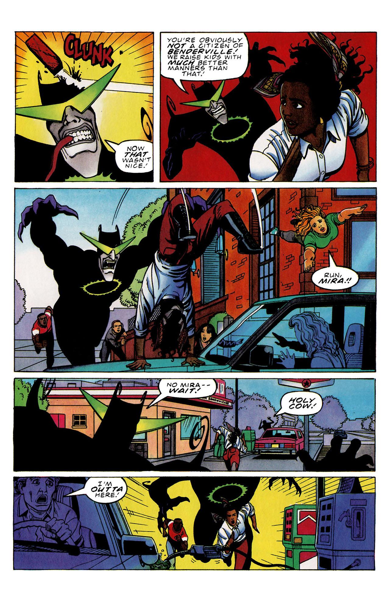 Read online Harbinger (1992) comic -  Issue #33 - 14