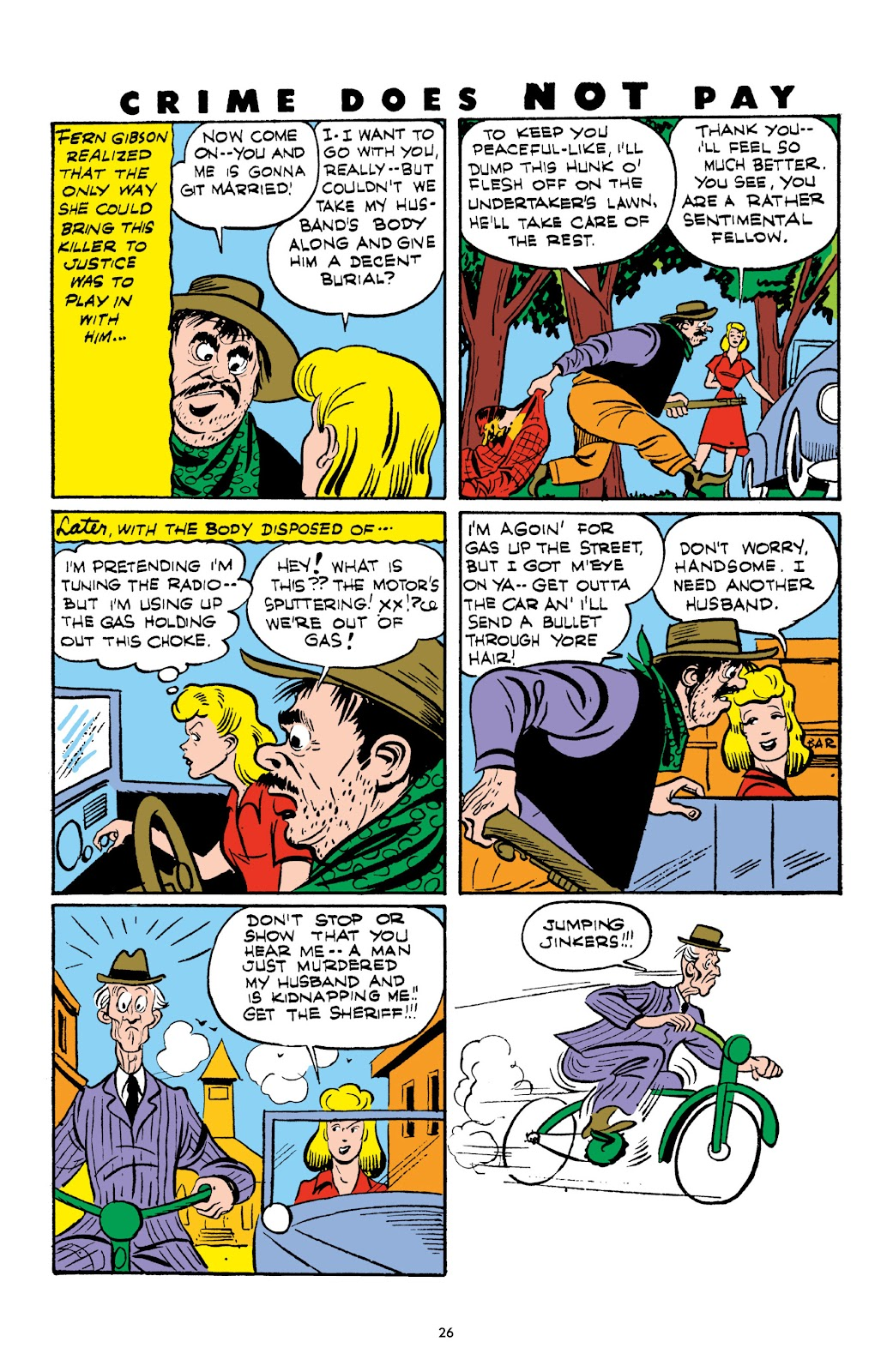 Read online Crime Does Not Pay Archives comic -  Issue # TPB 3 (Part 1) - 26