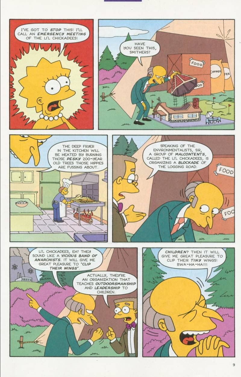 Read online Simpsons Comics comic -  Issue #63 - 10