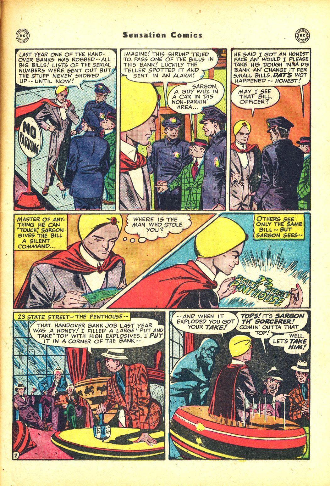 Read online Sensation (Mystery) Comics comic -  Issue #81 - 25