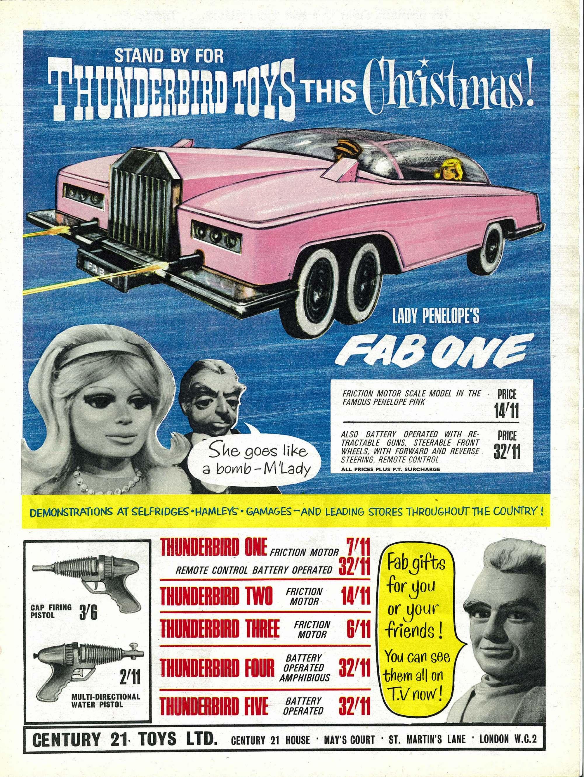 Read online TV Century 21 (TV 21) comic -  Issue #96 - 12