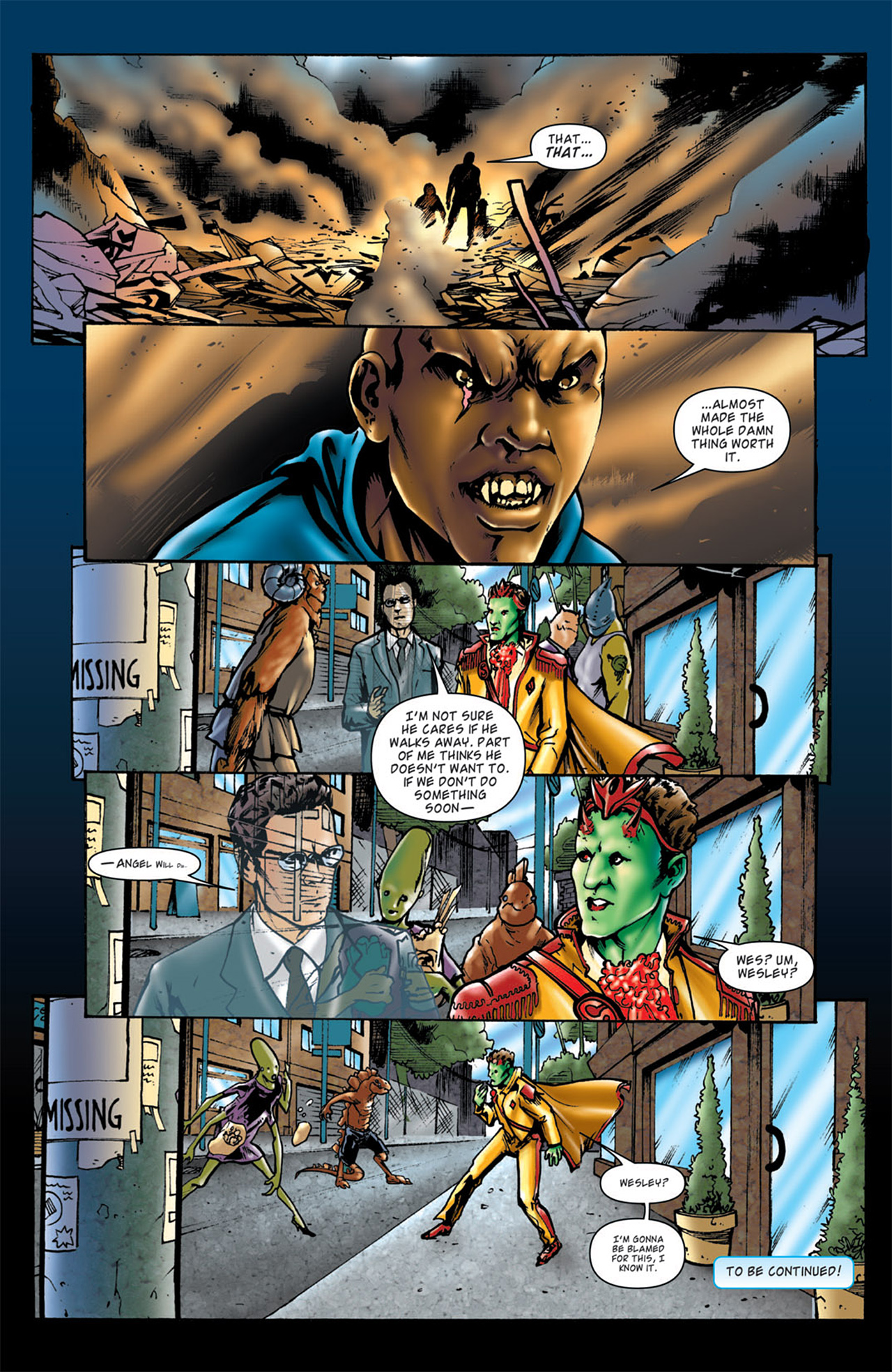 Read online Angel: After The Fall comic -  Issue #4 - 25