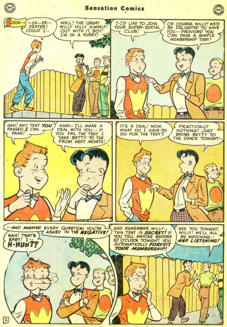 Read online Sensation (Mystery) Comics comic -  Issue #87 - 26