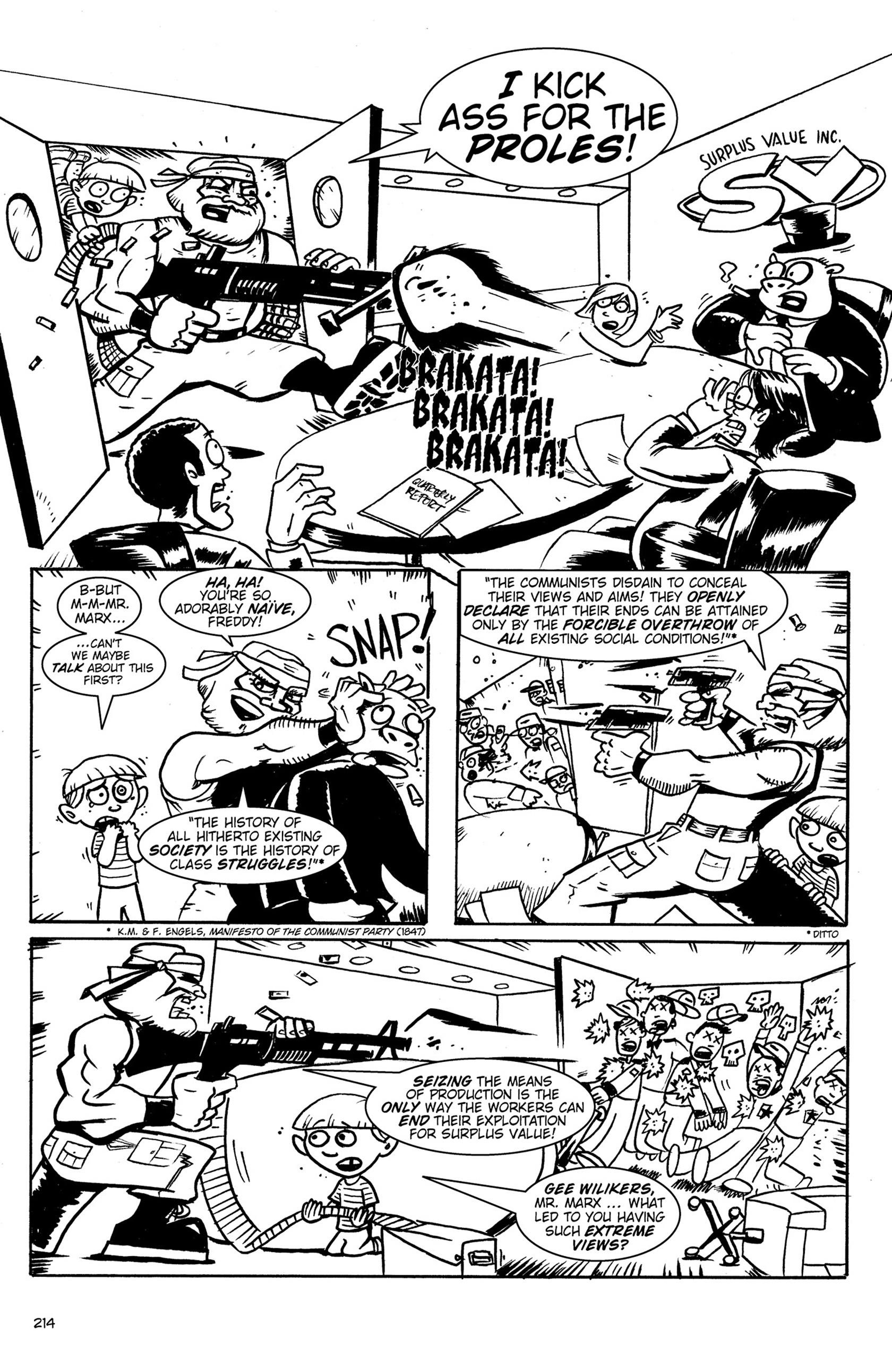 Read online Action Philosophers! comic -  Issue #Action Philosophers! TPB (Part 2) - 42