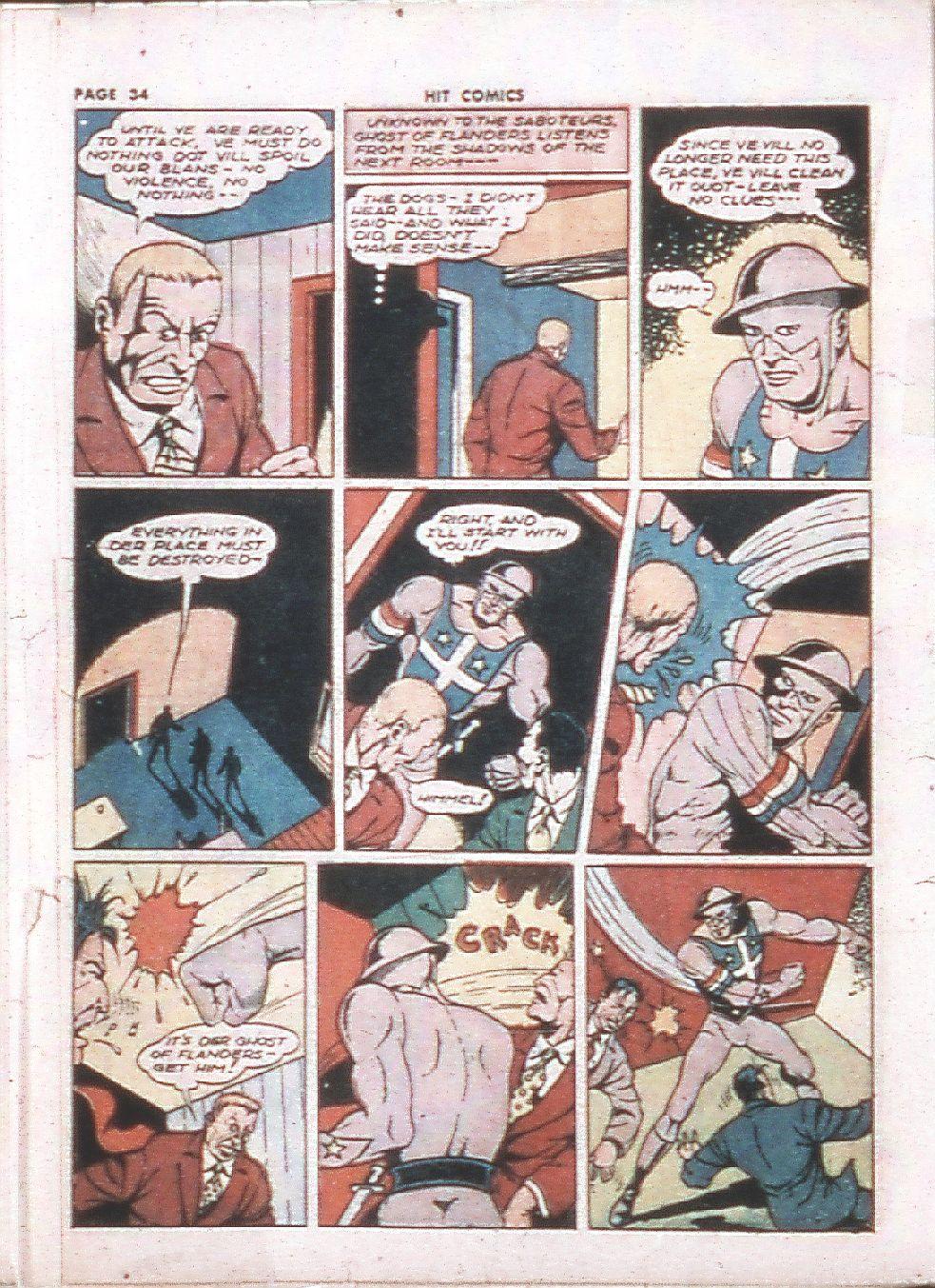 Read online Hit Comics comic -  Issue #24 - 36