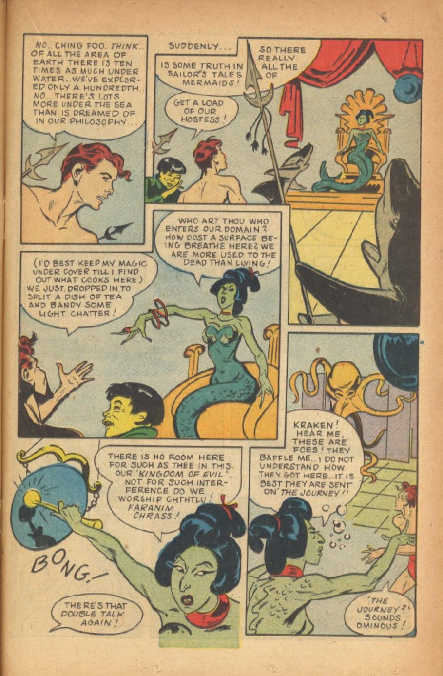 Read online Super-Magician Comics comic -  Issue #47 - 31