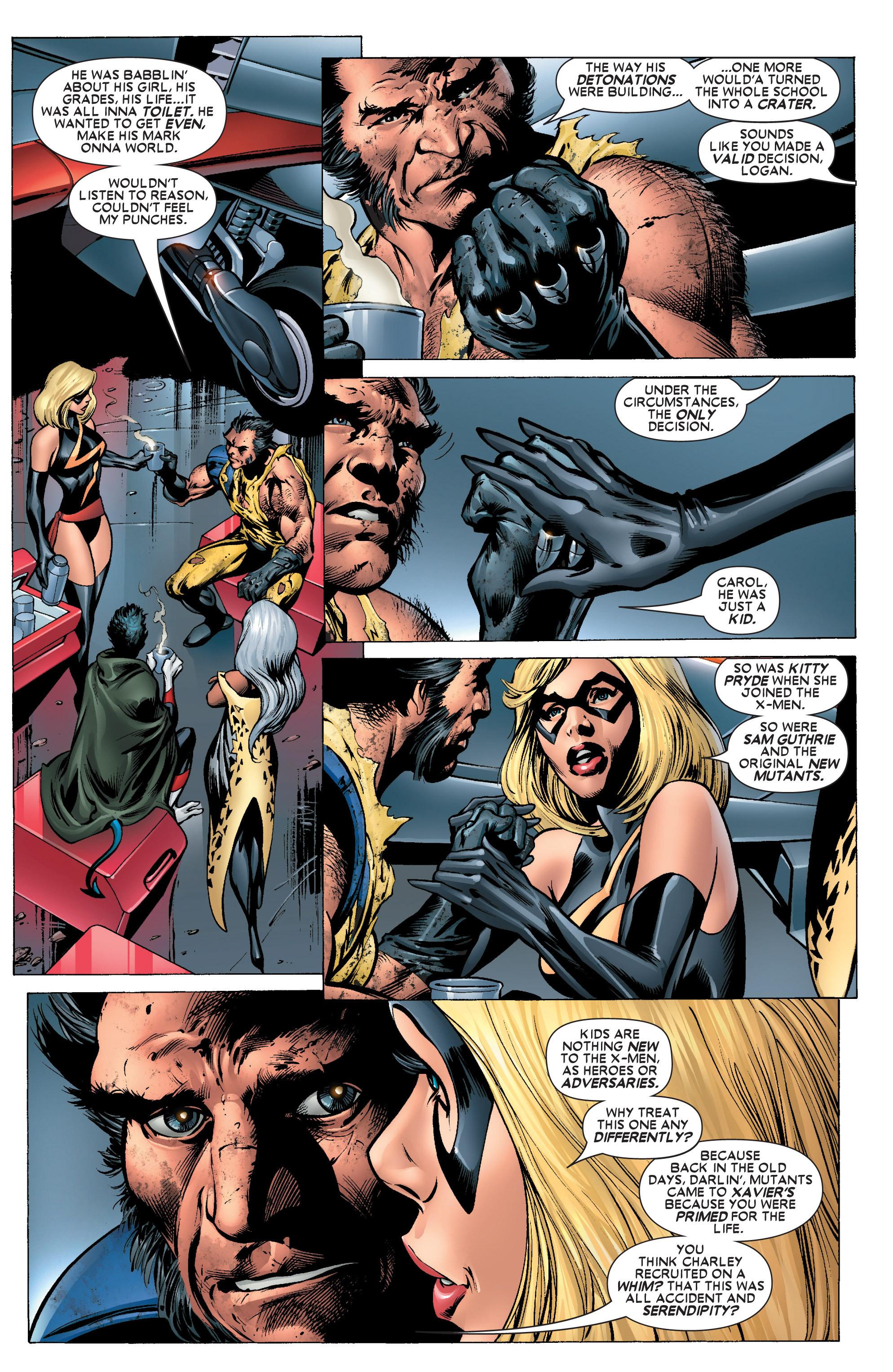Read online Uncanny X-Men (1963) comic -  Issue #445 - 10