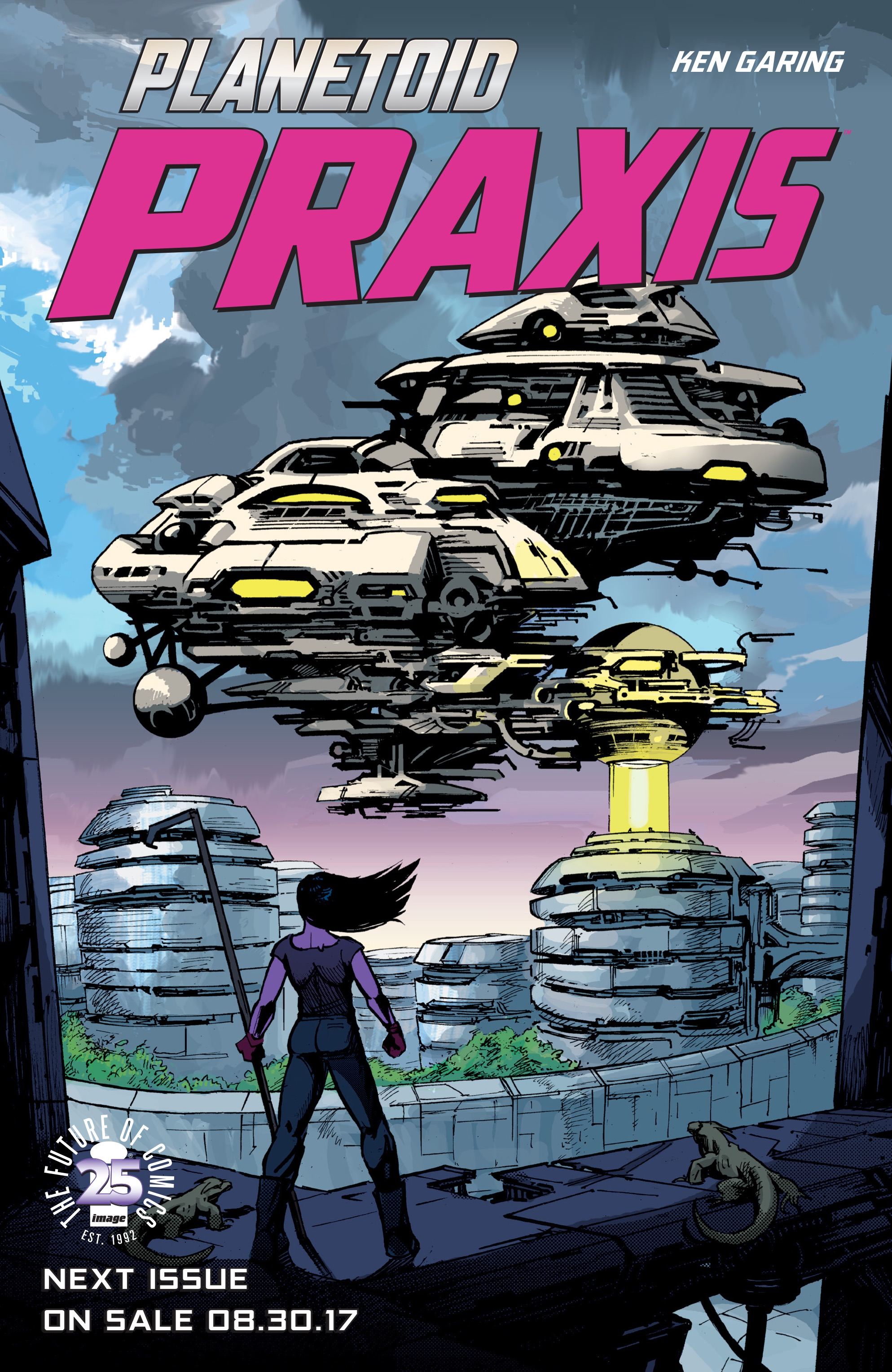 Read online Planetoid Praxis comic -  Issue #5 - 27