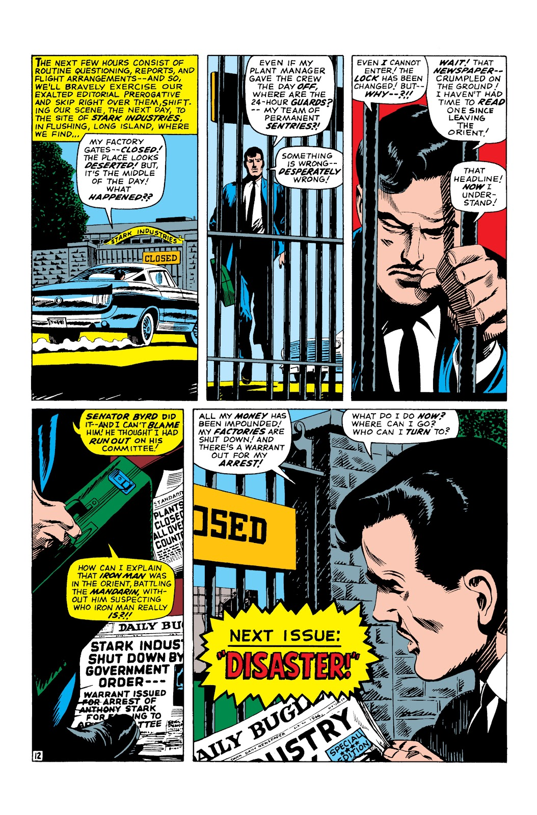 Read online Marvel Masterworks: The Invincible Iron Man comic -  Issue # TPB 3 (Part 3) - 91