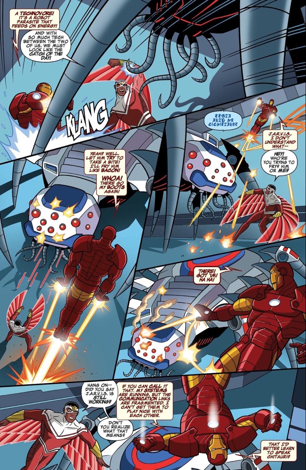 Read online Marvel Universe Avengers Assemble Season 2 comic -  Issue #1 - 29
