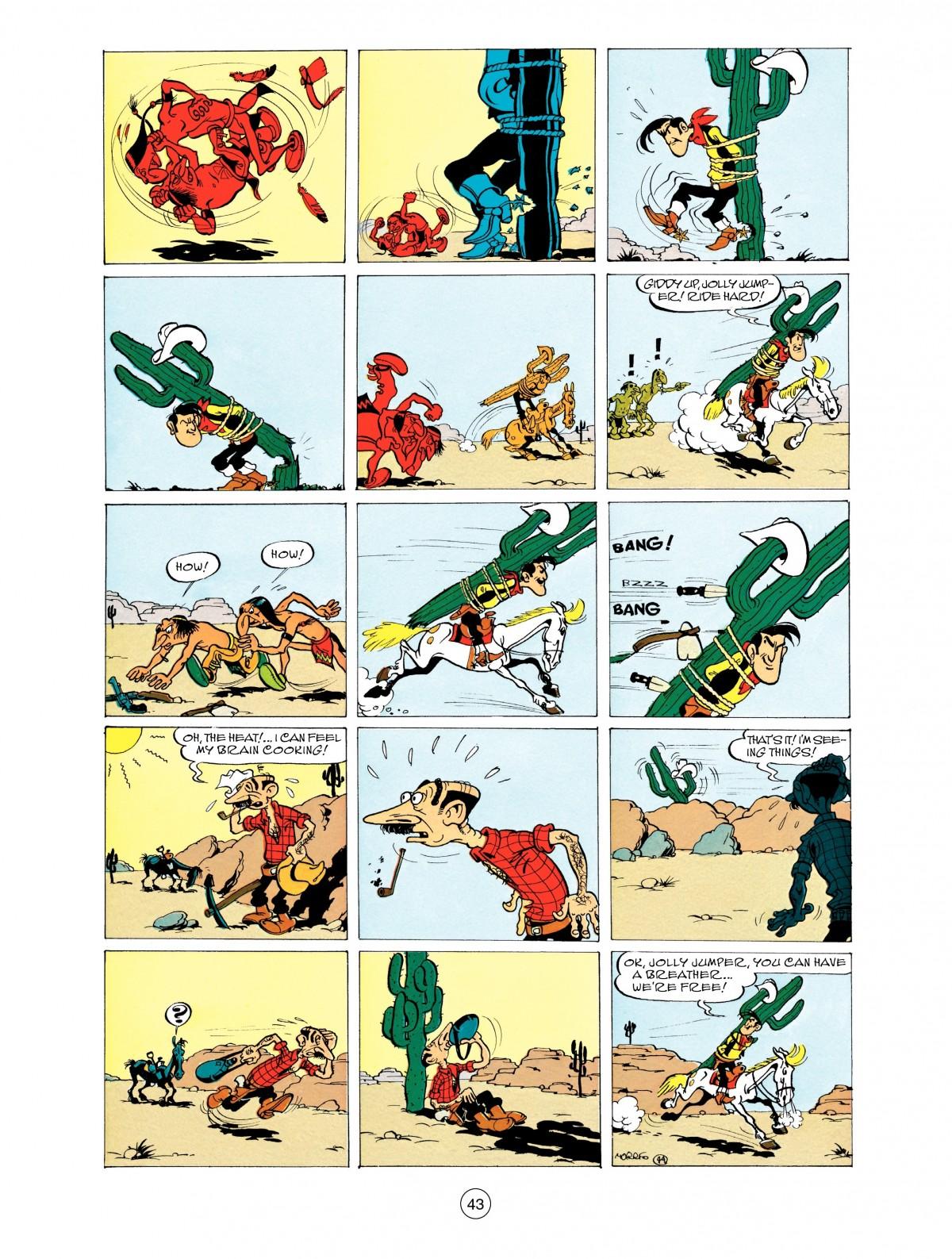 Read online A Lucky Luke Adventure comic -  Issue #48 - 43