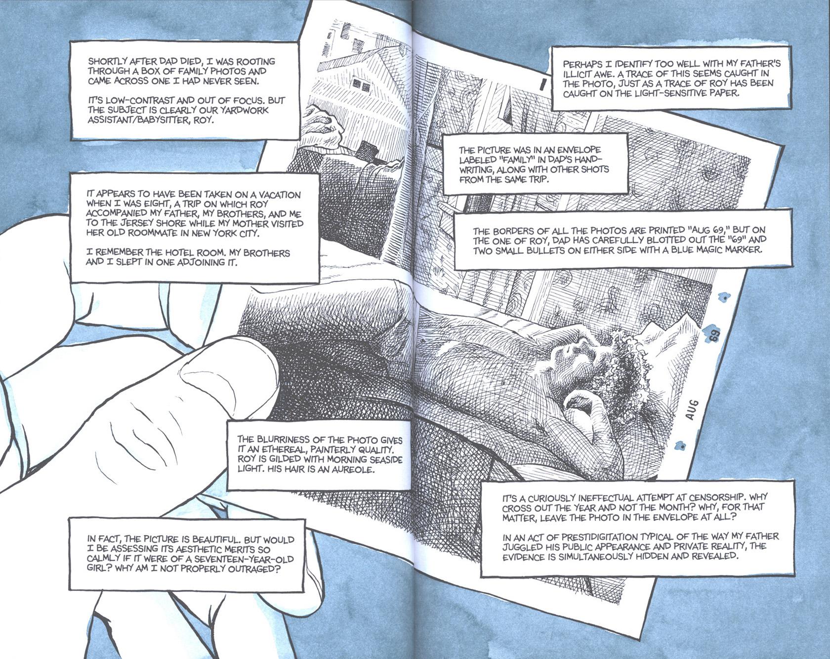 Read online Fun Home: A Family Tragicomic comic -  Issue # TPB - 107