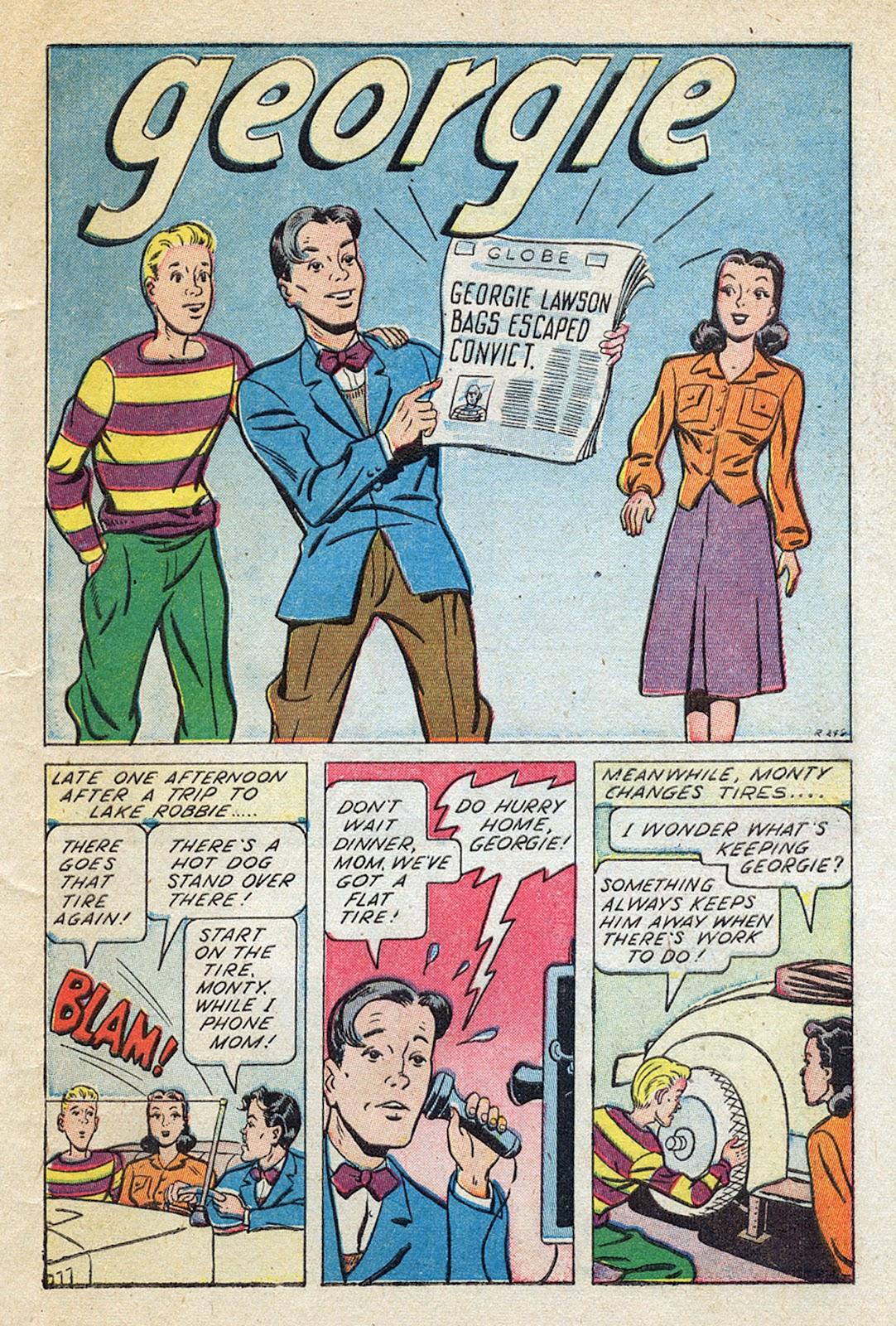 Georgie Comics (1945) issue 4 - Page 43