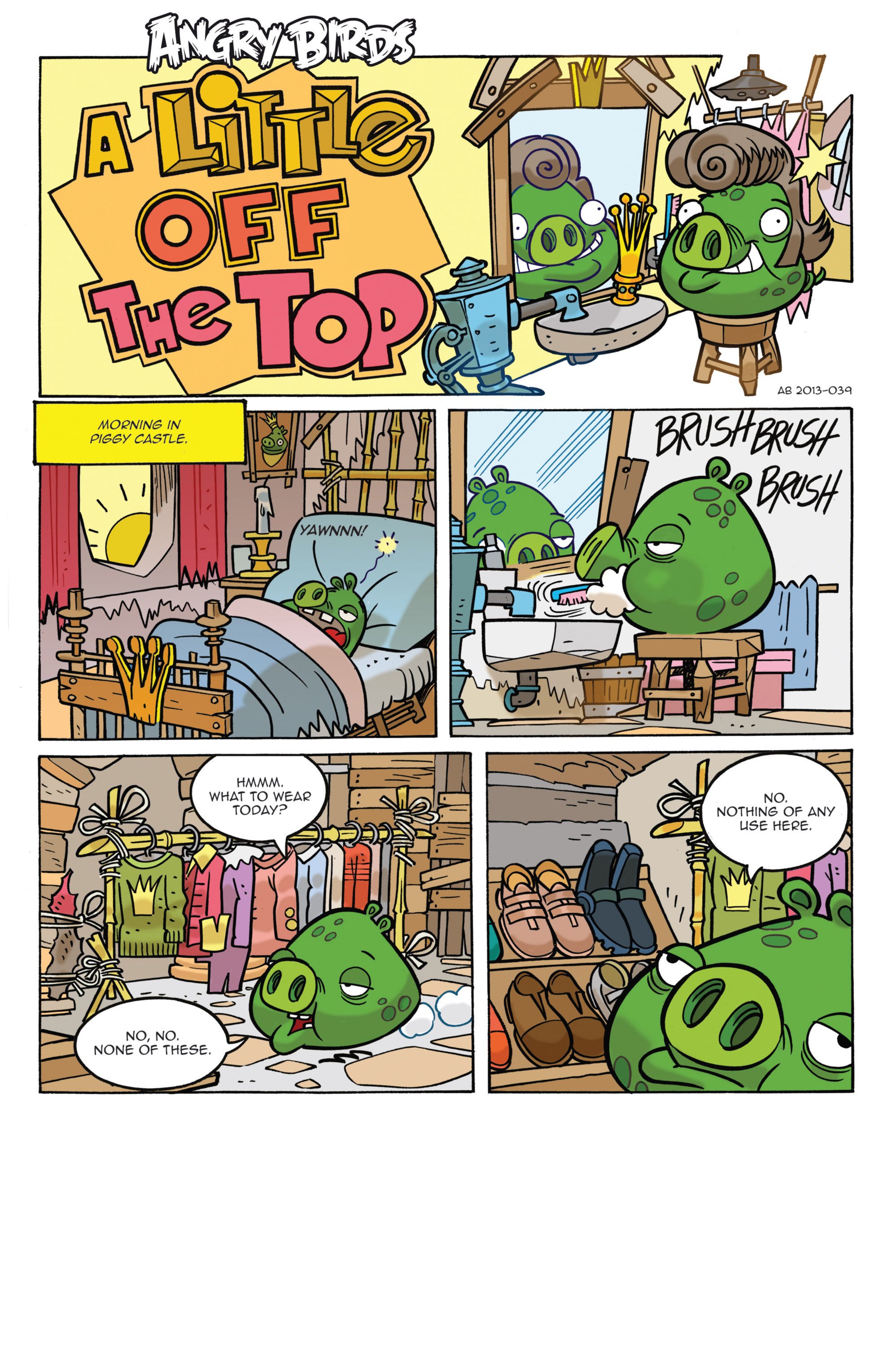 Read online Angry Birds Comics (2014) comic -  Issue #3 - 4