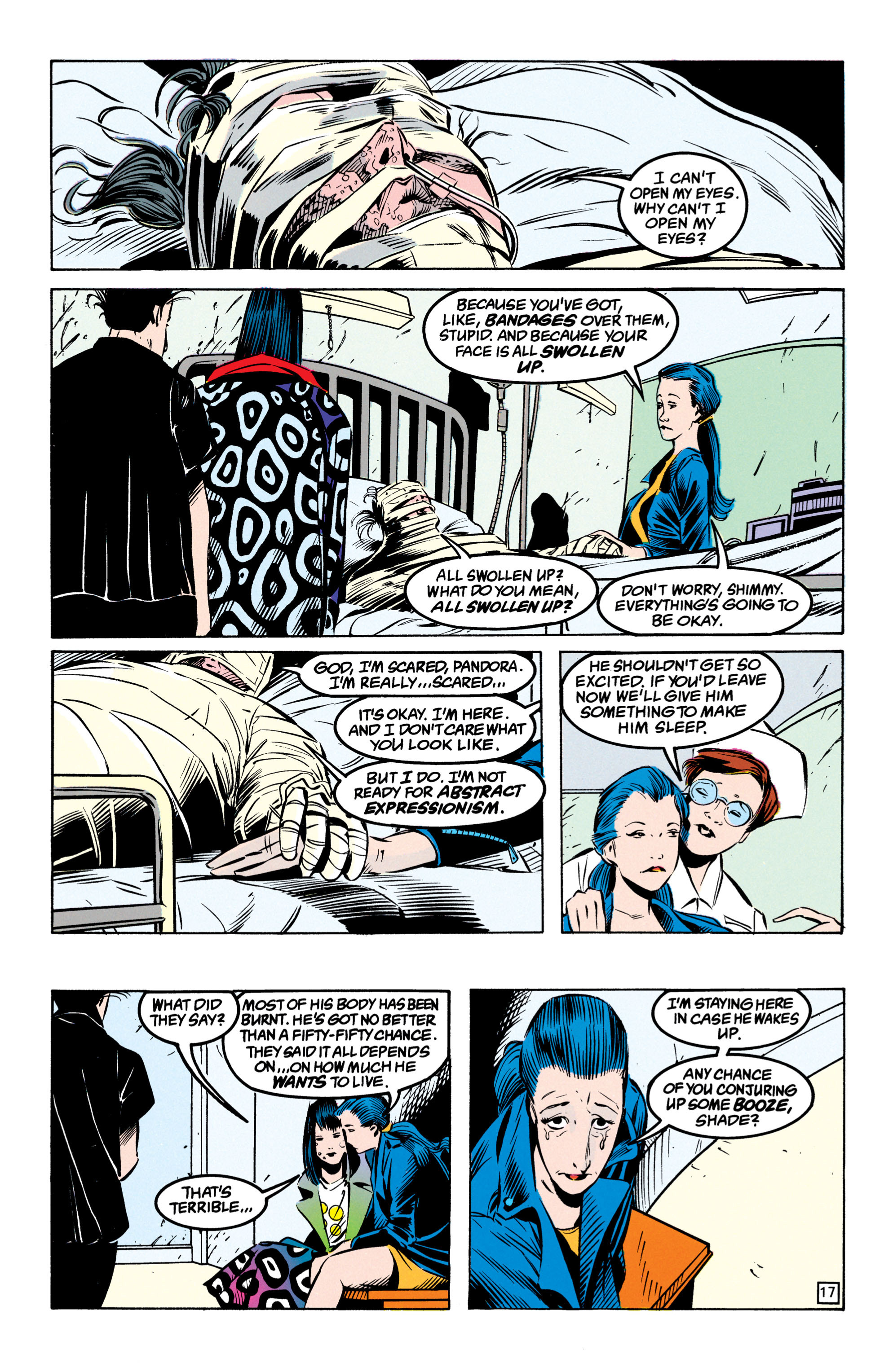 Read online Shade, the Changing Man comic -  Issue #49 - 18
