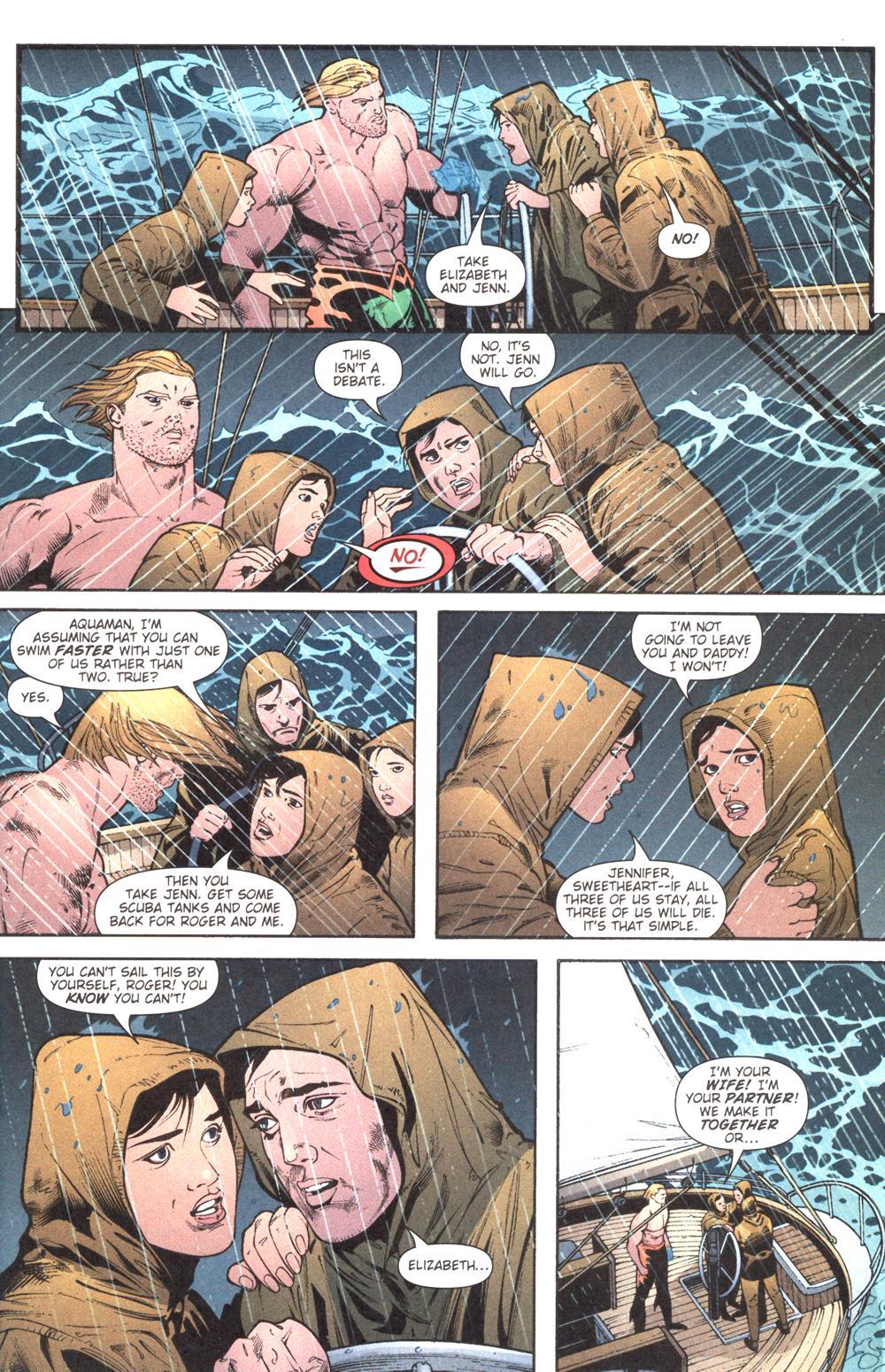 Read online Aquaman (2003) comic -  Issue #13 - 14