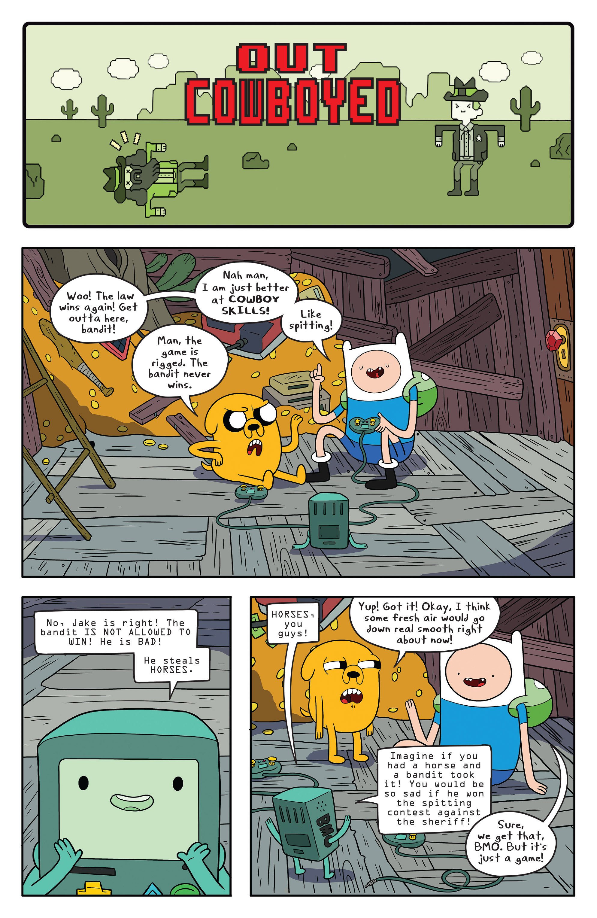 Read online Adventure Time comic -  Issue #56 - 5